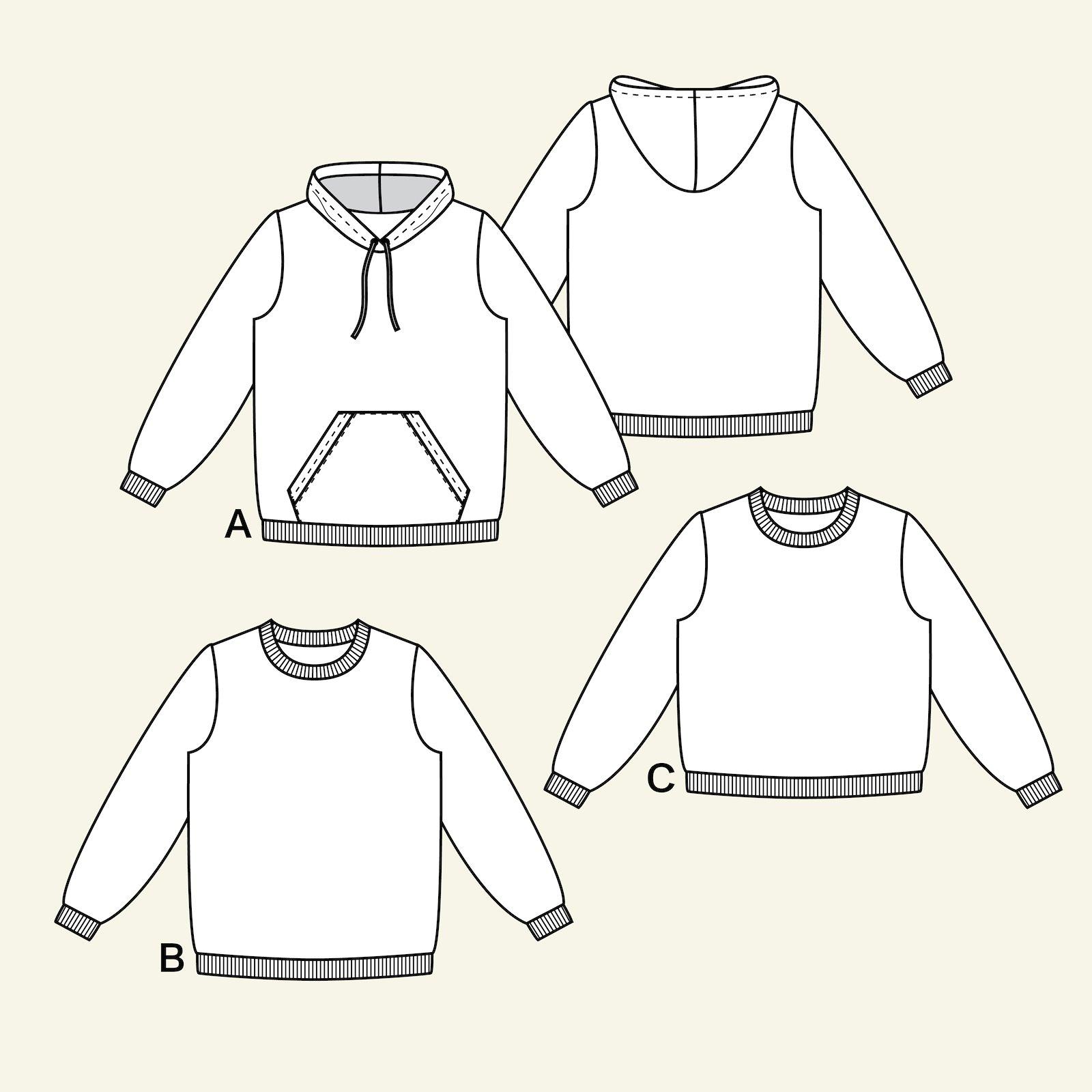 Sweatshirt, S p22073_pack