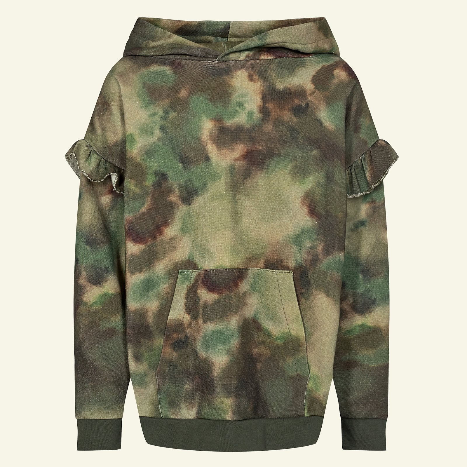 Sweatshirt w. hood + pocket, 134/9y p62020_211774_230057_sskit