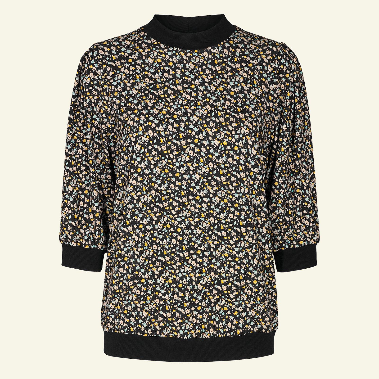 Sweatshirt with puff sleeves, M p22074_272618_272436_sskit