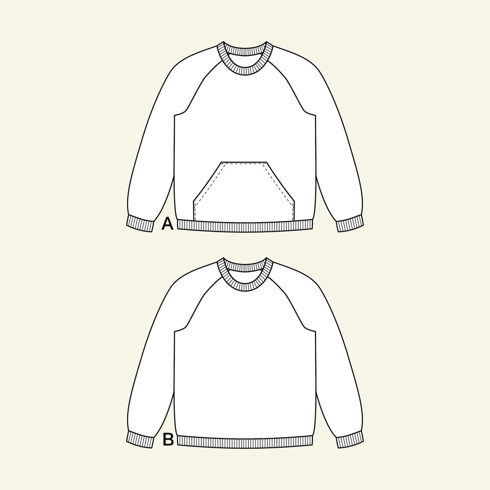 Sweatshirt with raglan sleeves, 98/3y p62015_pack