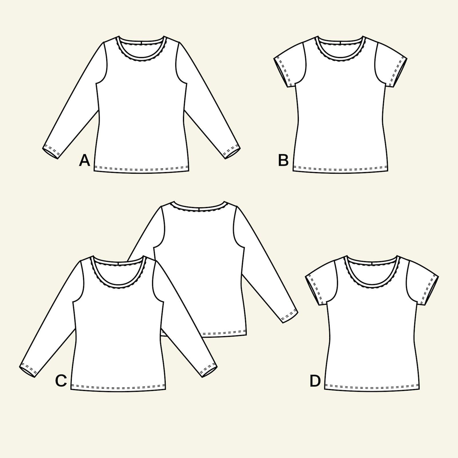 T-shirt, 46/18 p22049_pack