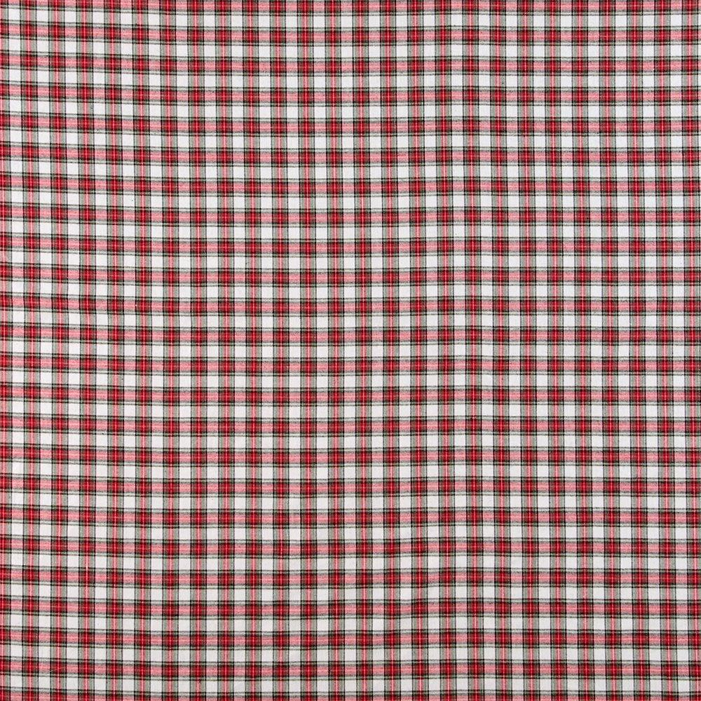 Tartan cotton nature/red/green 500313_pack_sp