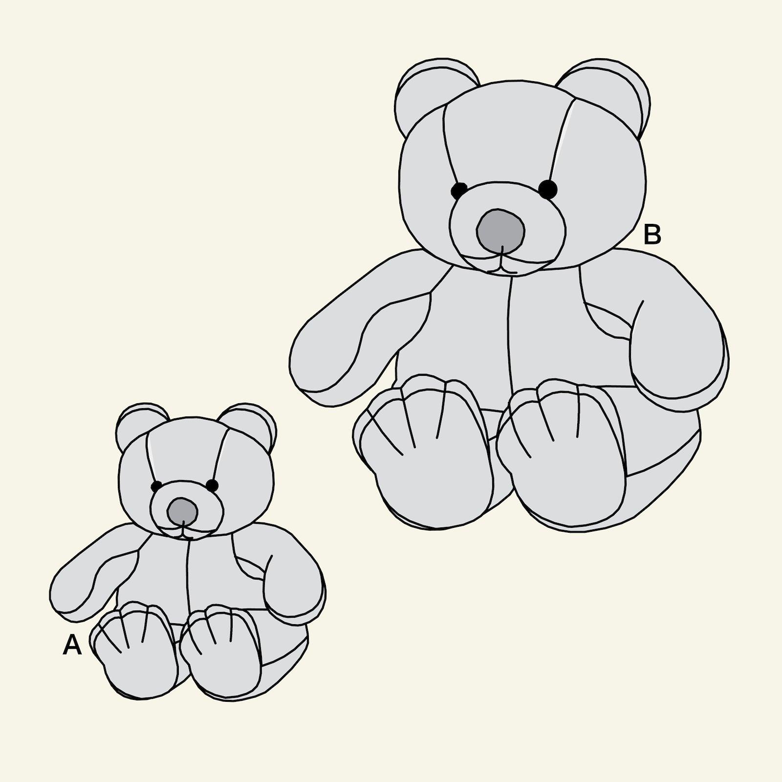 Teddy bear p90070_pack