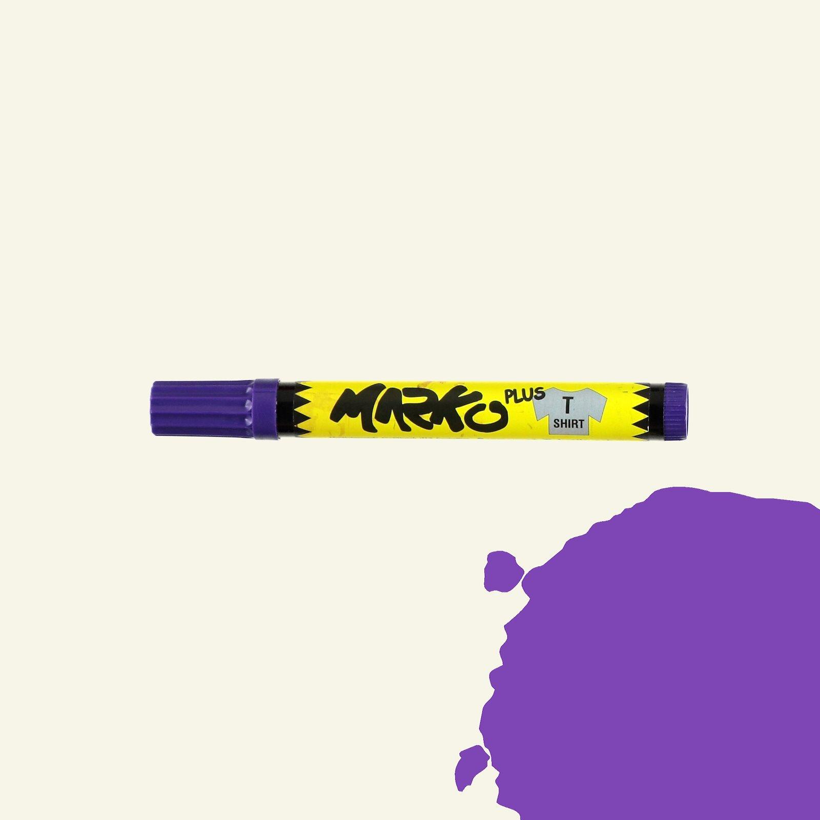 Textile pen permanent 5mm purple 29311_pack