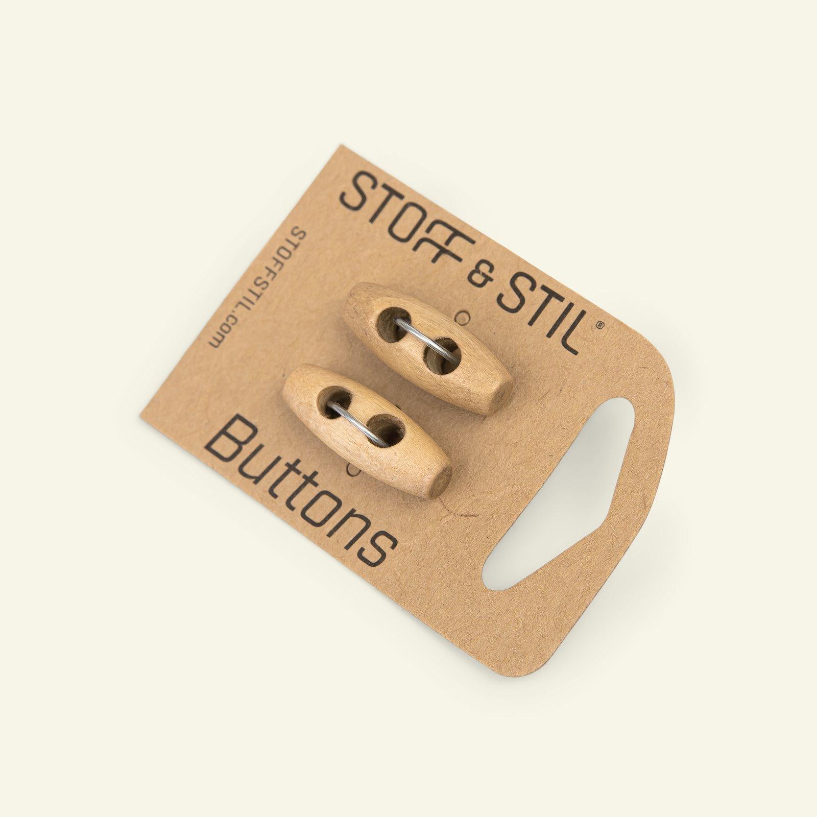 Toggle button duffel wood 23mm 2pcs 33507_pack_b
