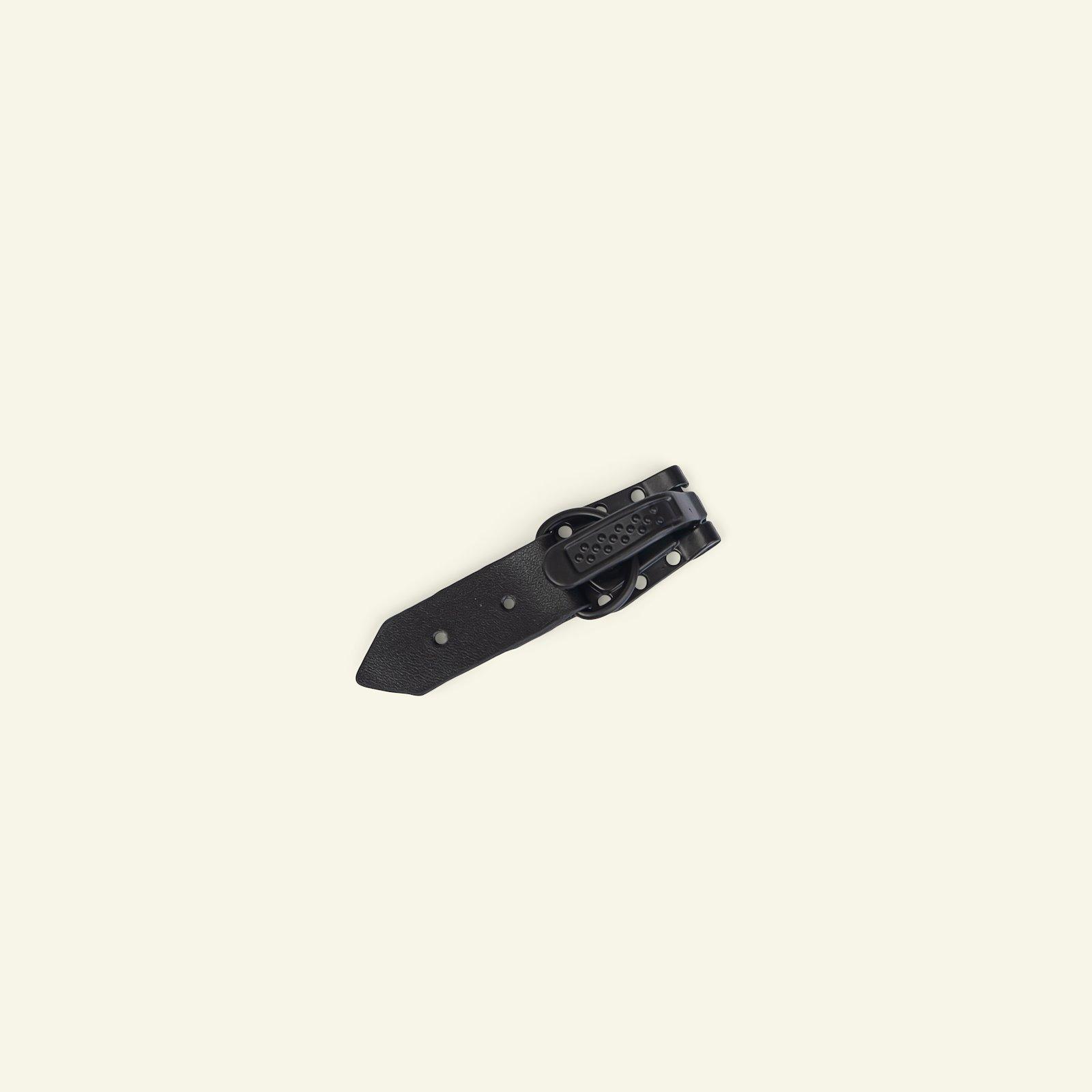 Toggle fast. imit leath. 55x15mm black 1 43794_pack