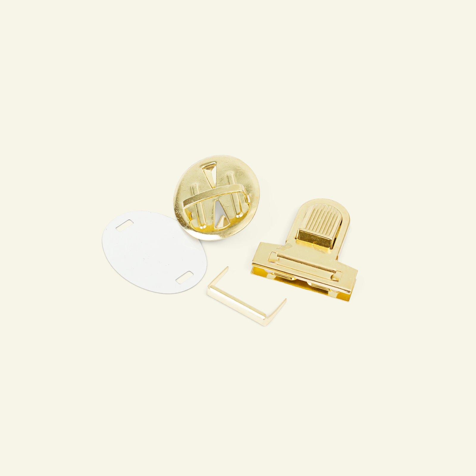 Tuck lock metal 32x36mm silver 1pc 43007_pack