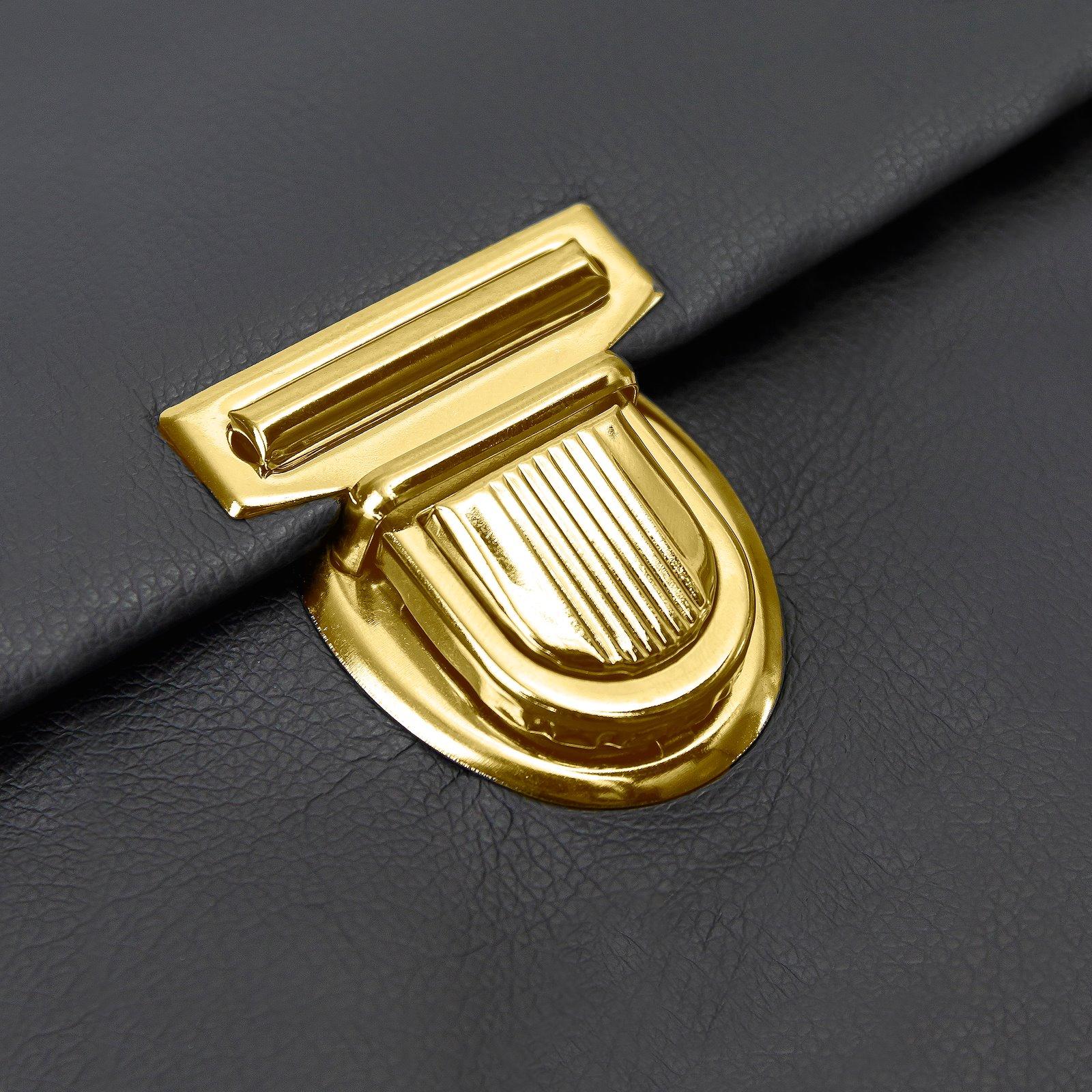 Tuck lock metal 44x45mm gold 1pc 43009_pack_b