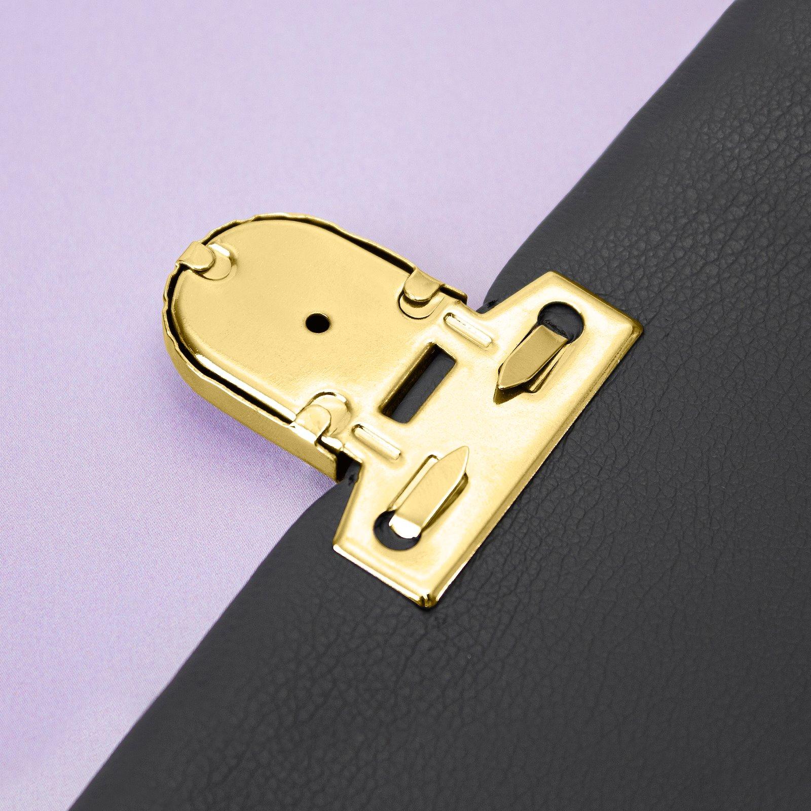 Tuck lock metal 44x45mm gold 1pc 43009_pack_d