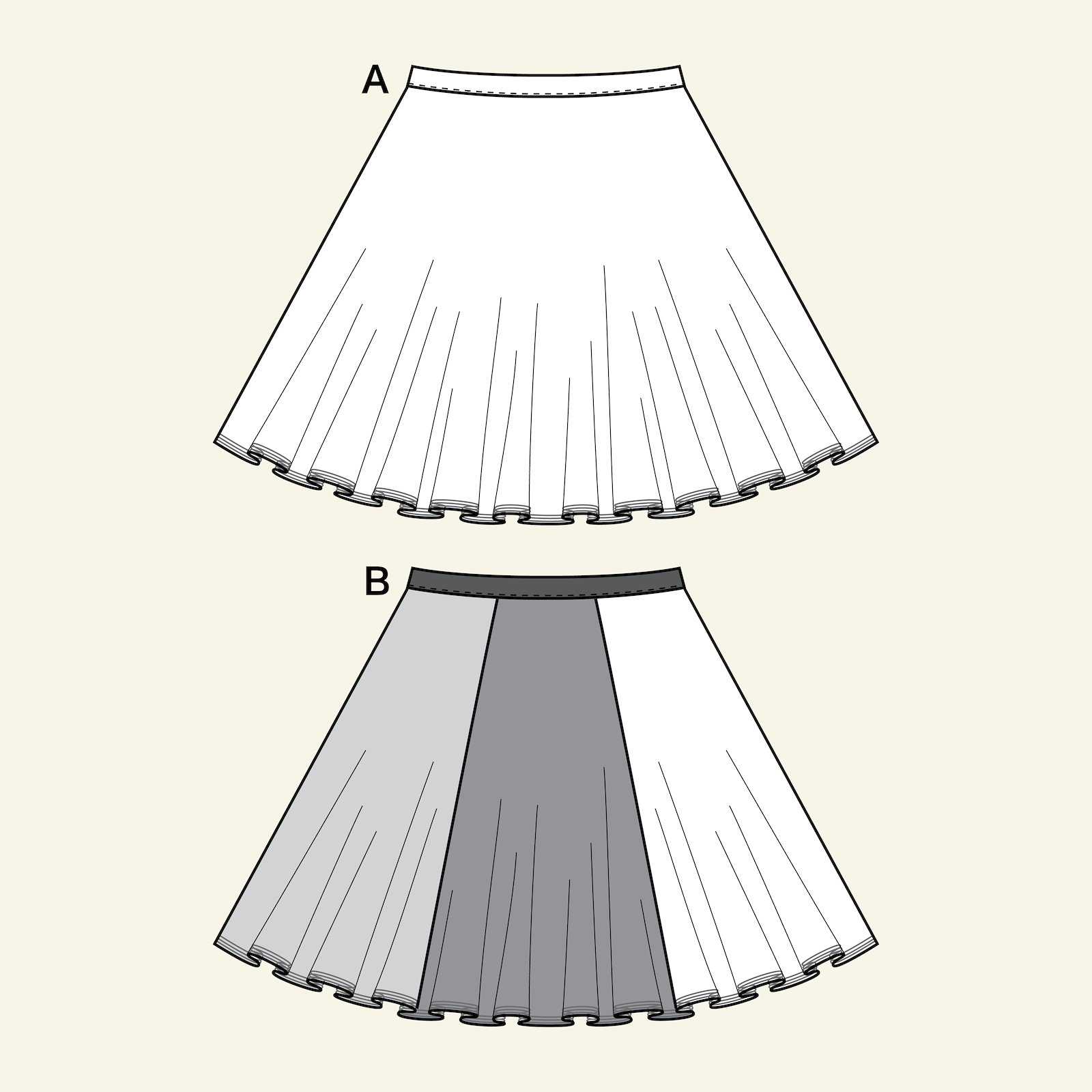 Tulle skirt, 116/6y p61018_pack