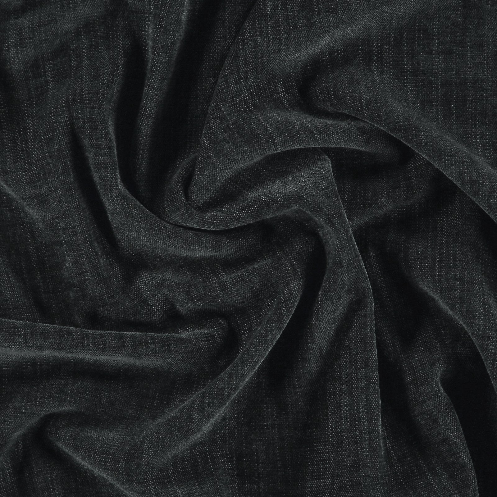 Upholstery chenille structure dark grey 824173_pack