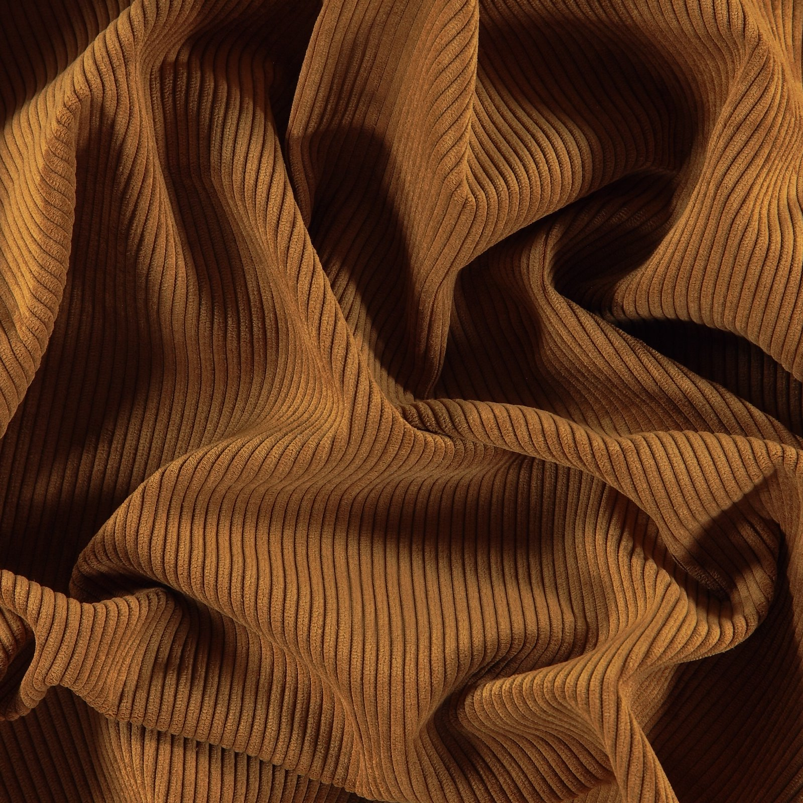 Upholstery corduroy 6 wales golden brown 823768_pack