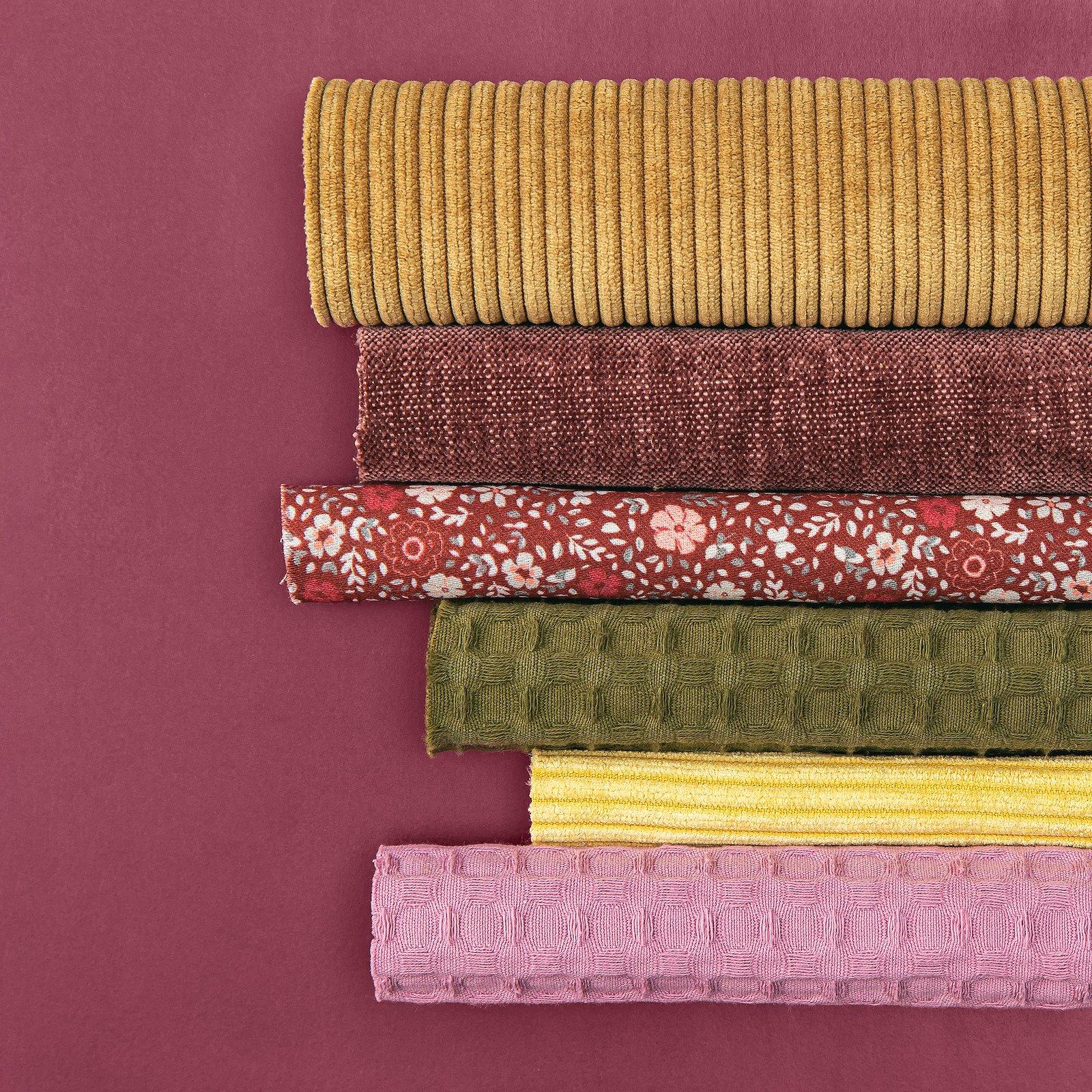 Upholstery corduroy 6 wales olive yellow 824155_824159_816263_501790_824154_501887_bundle