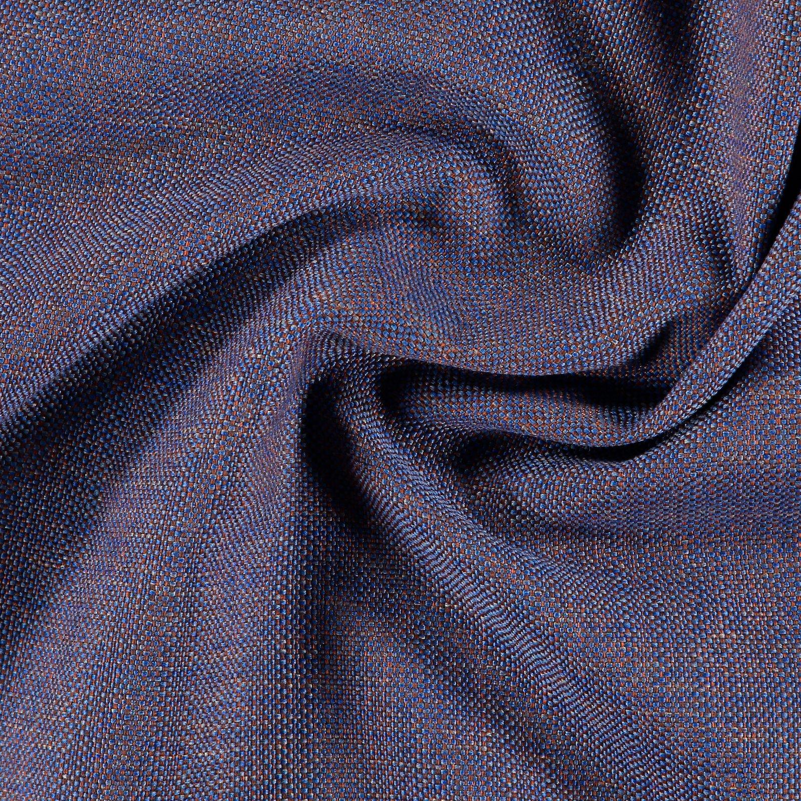 Upholstery fabric cobalt blue/caramel 824156_pack
