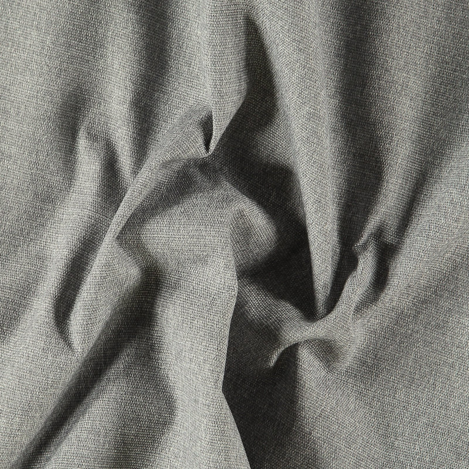 Upholstery fabric grey w/black backing 824107_pack