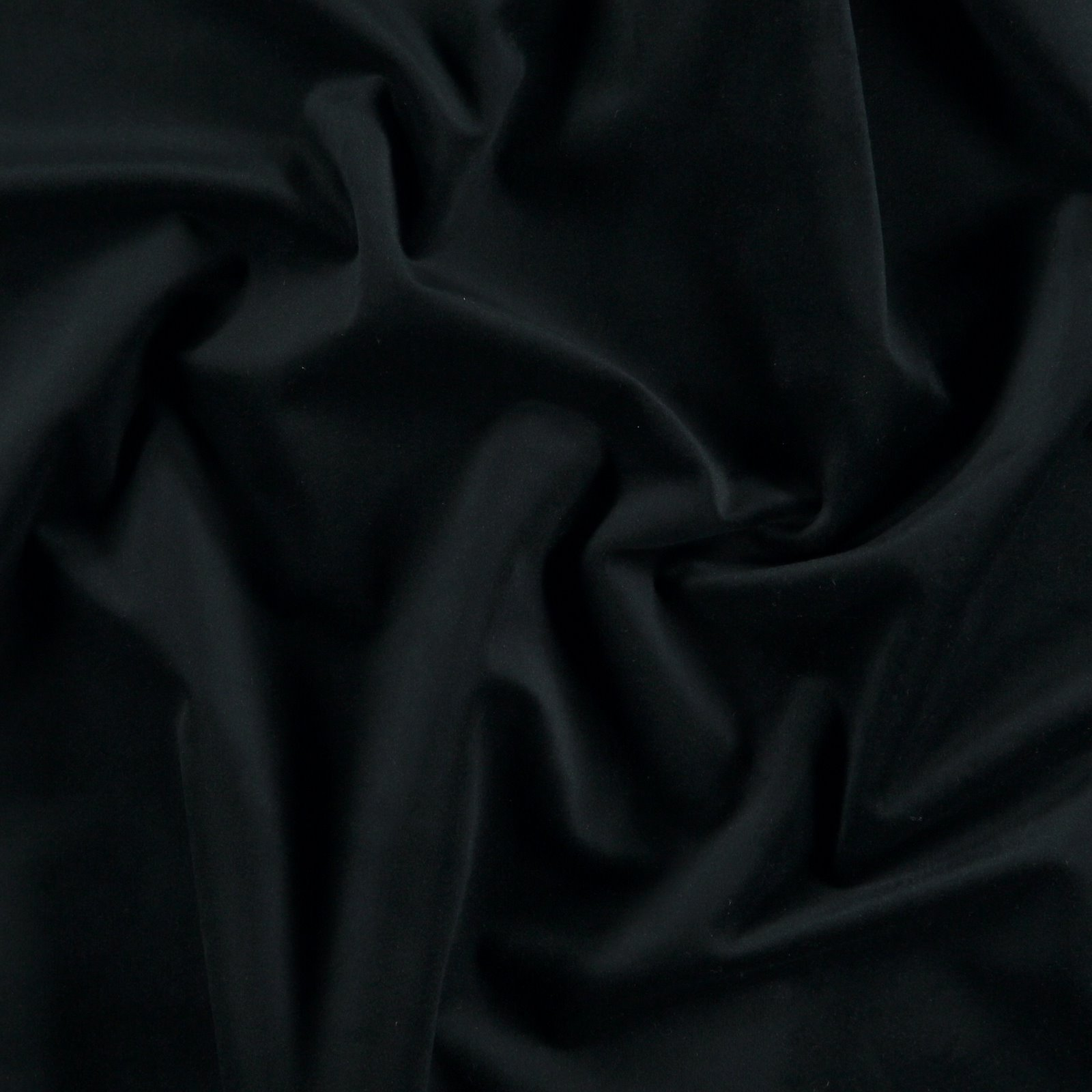 Upholstery shiny velvet black 824167_pack
