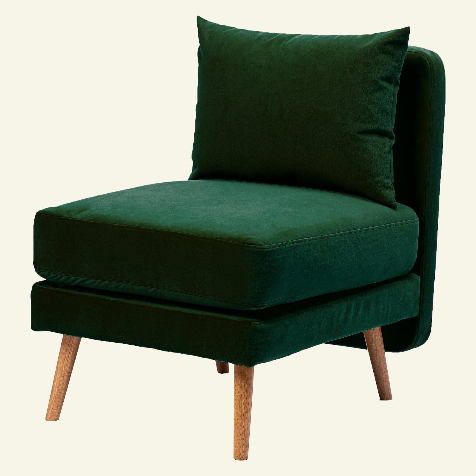 Upholstery shiny velvet emerald green 823724_sskit