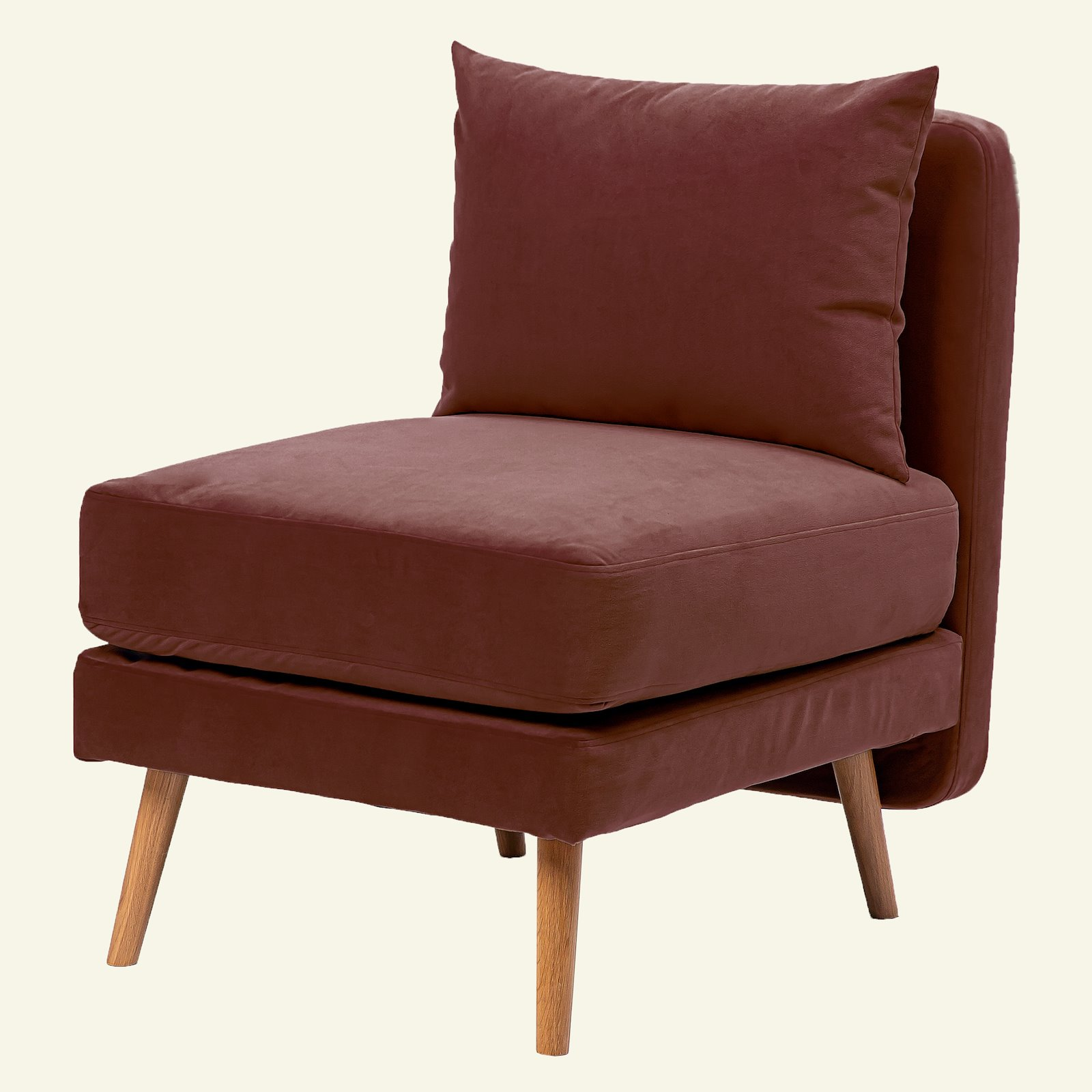 Upholstery shiny velvet rouge 823695_sskit