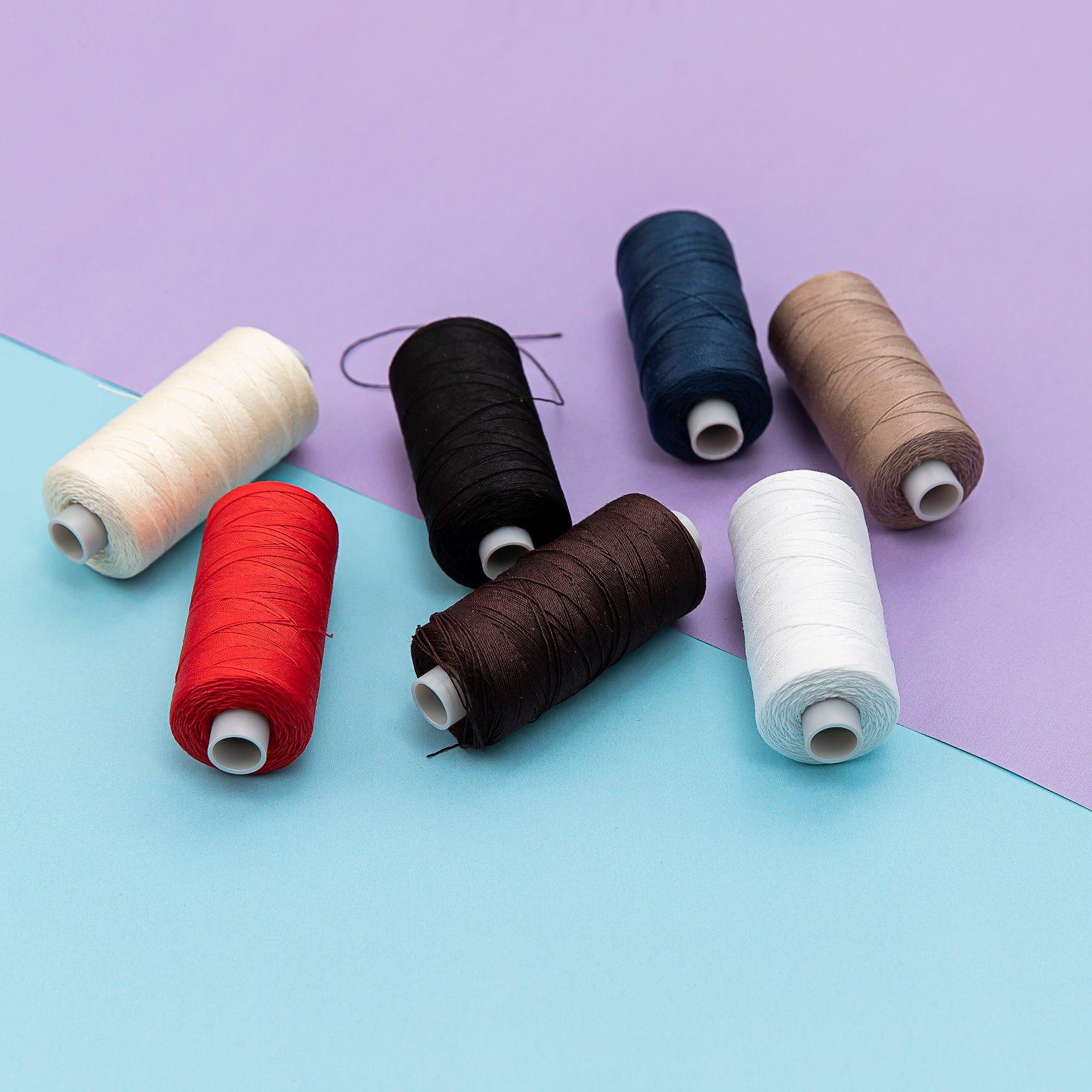 Upholstery thread white 300m 16011_16002_16037_16001_16023_16043_16031_16041_bundle