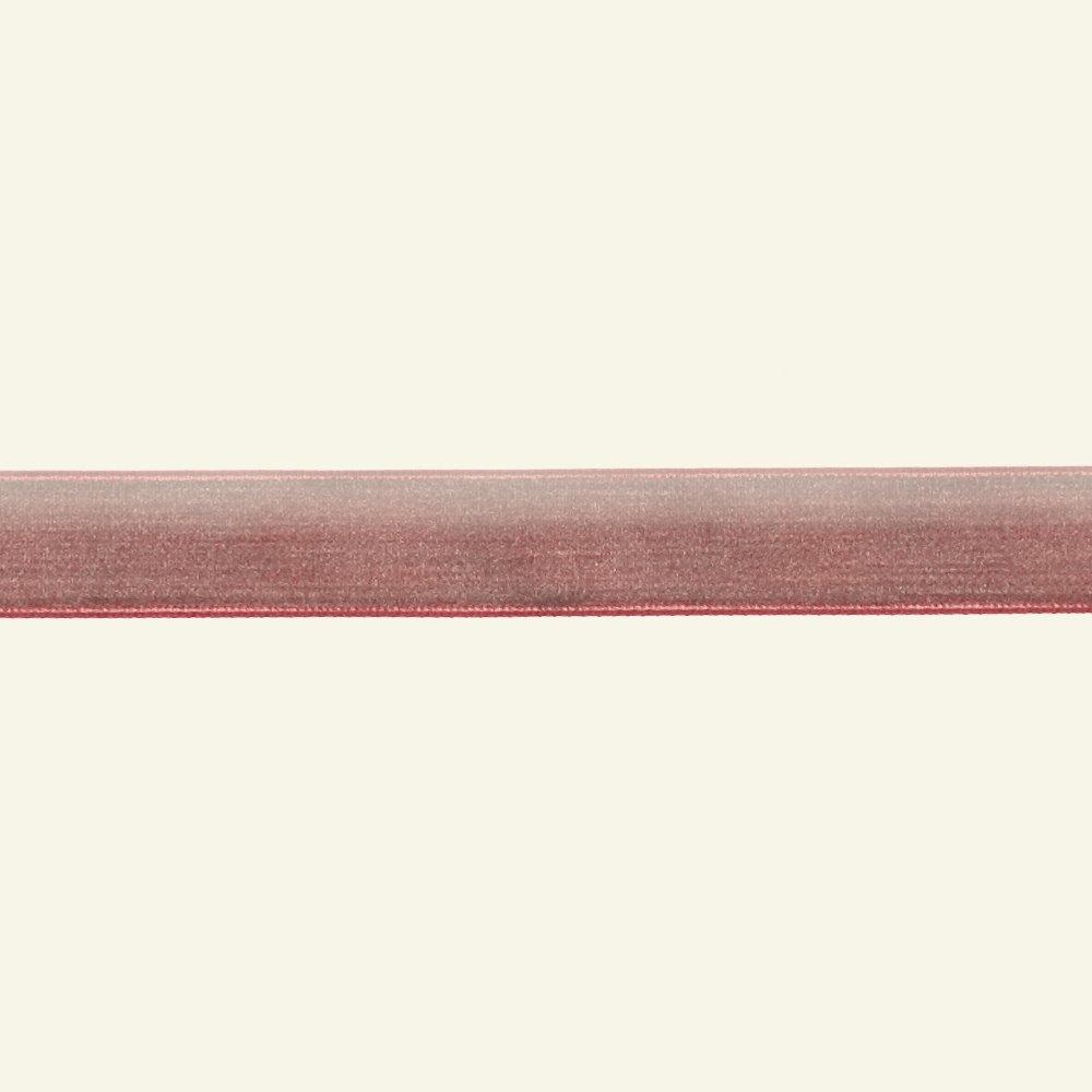 Velvet ribbon 15mm dark rose 3m 26019_pack