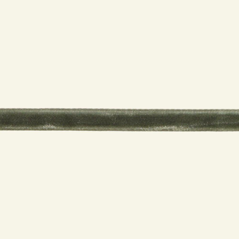 Velvet ribbon 7mm dusty green 3m 26086_pack