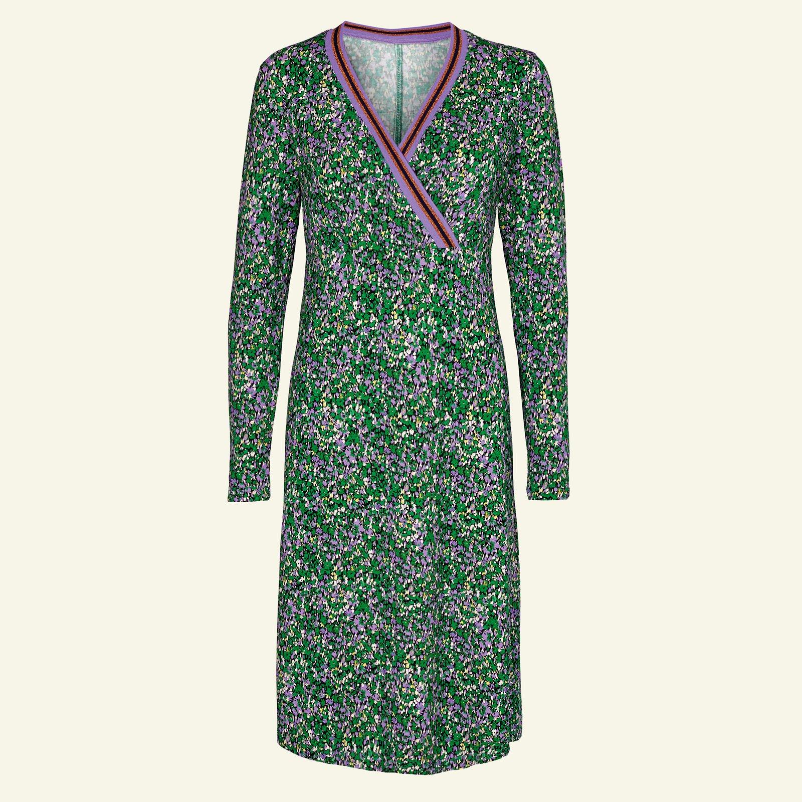 Viscose stretch jersey green with flower p23157_272591_96180_sskit