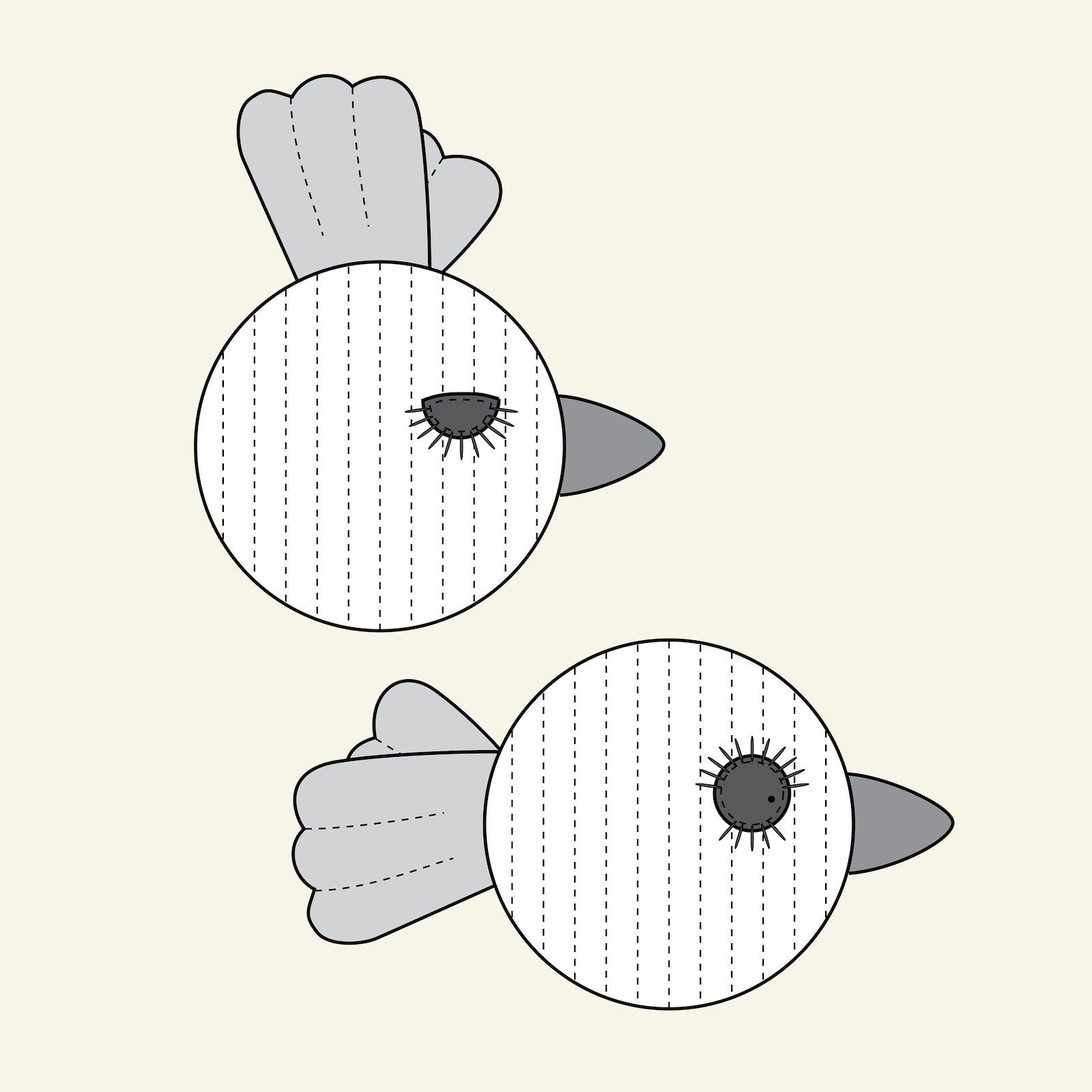 Vogel/Fisch, groß & klein p90338_pack