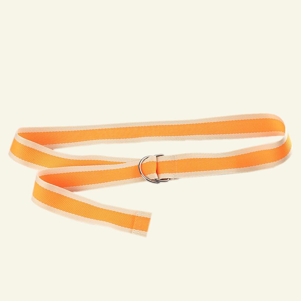 Webbing belt with D-rings DIY2305_belt_ribbon_d-ring_sew.png