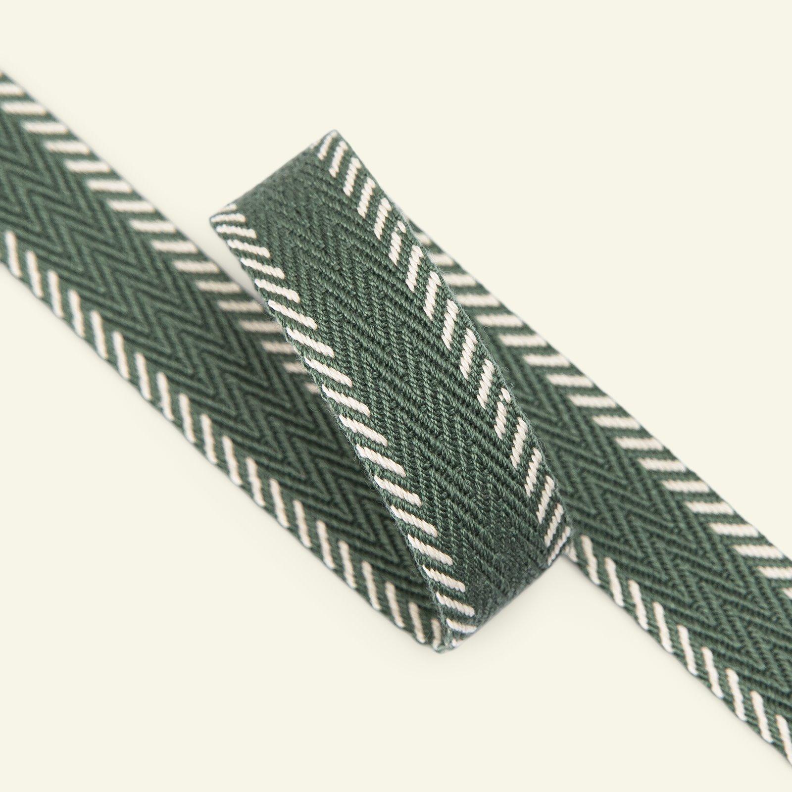Webbing ribbon 20mm green 2m 22222_pack
