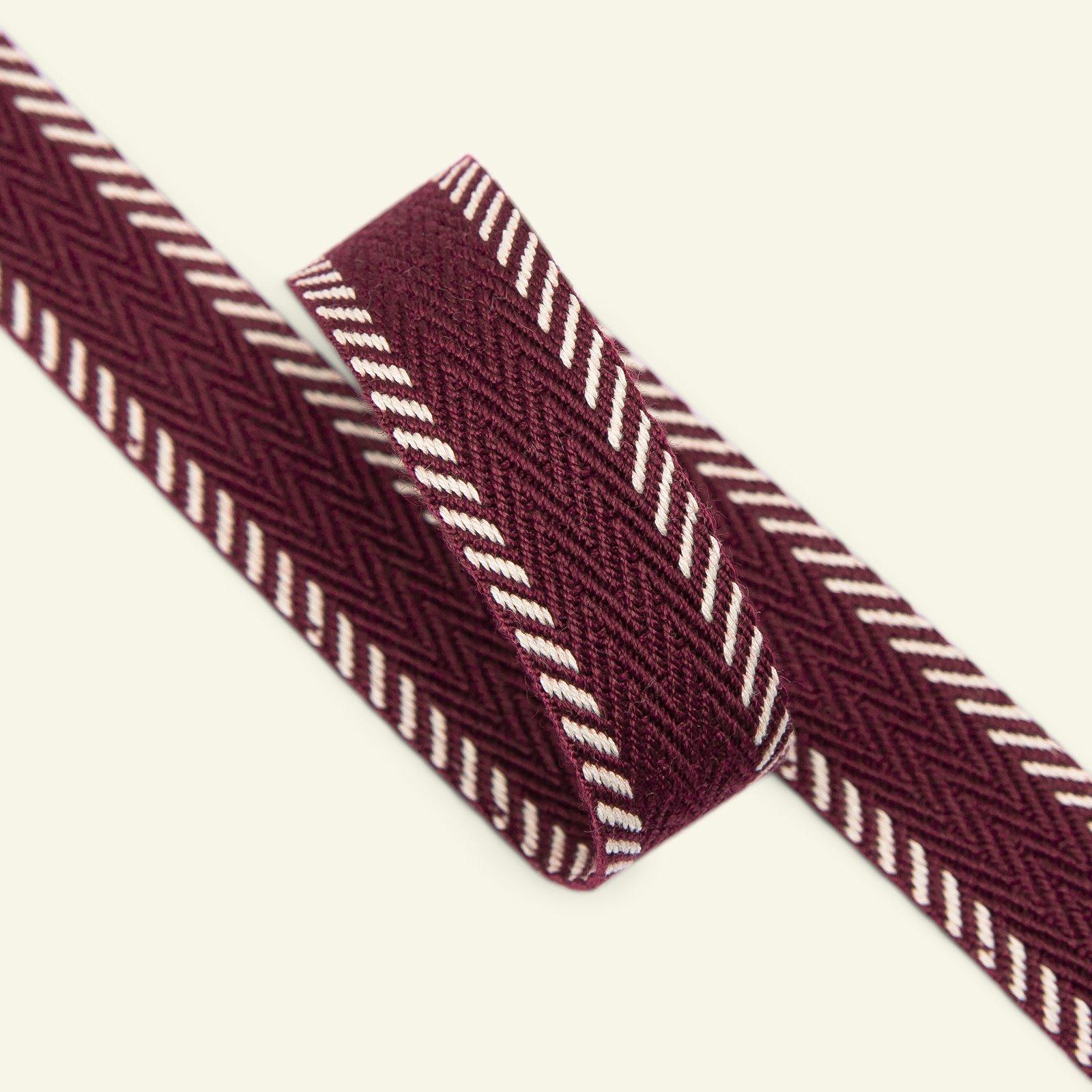 Webbing ribbon 20mm red 2m 22224_pack