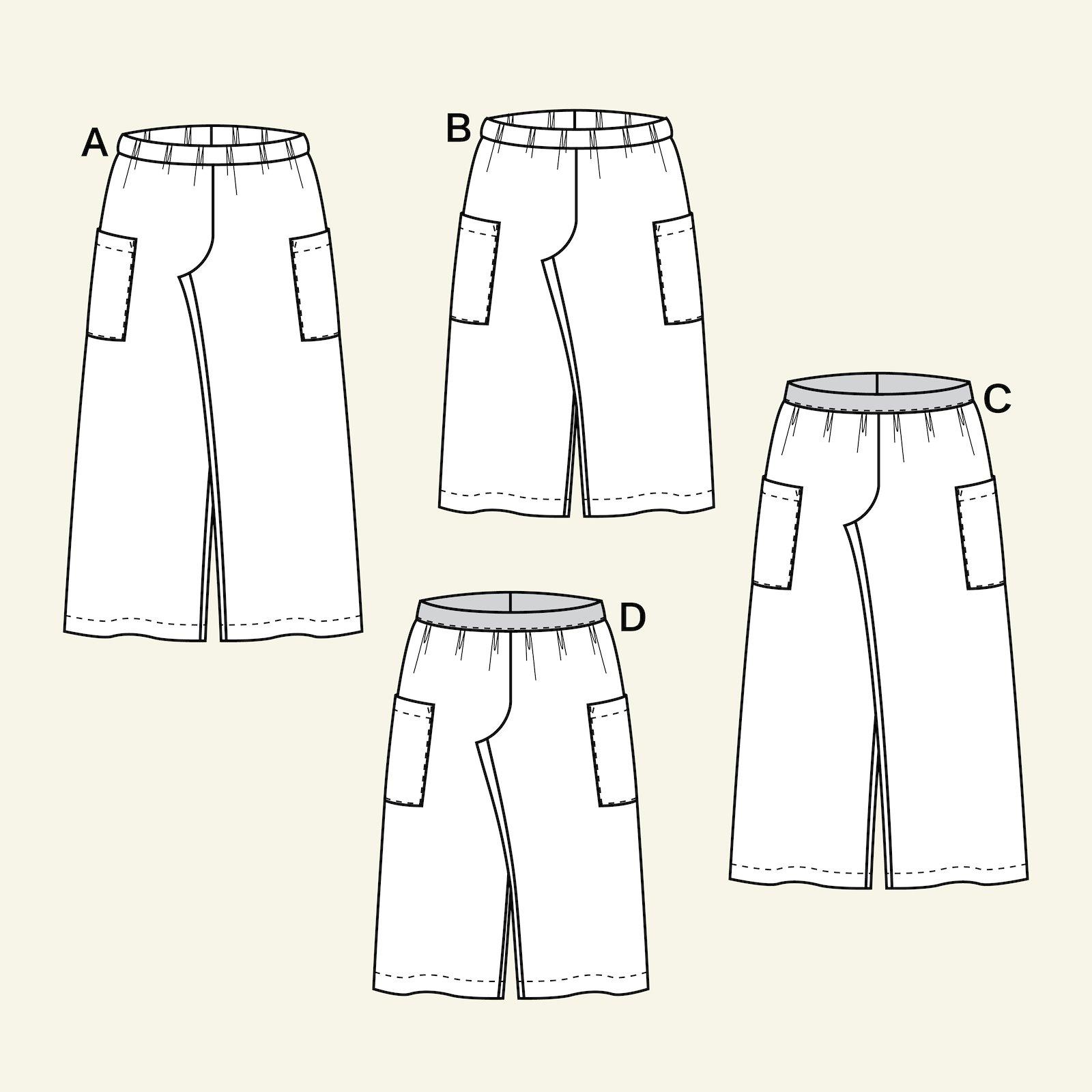 Weite Hose mit hoher Taille p60039_pack