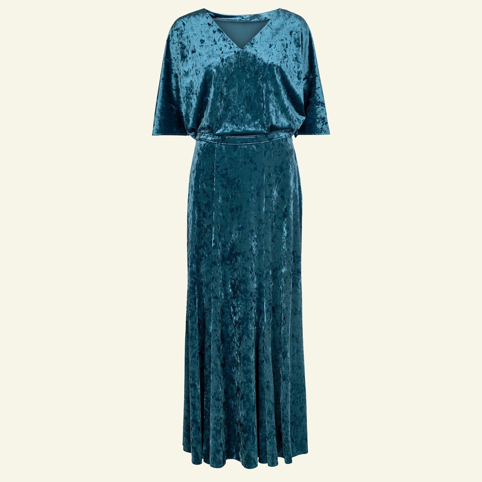 Wide dress with V-neck, 44/16 p23153_250744_sskit