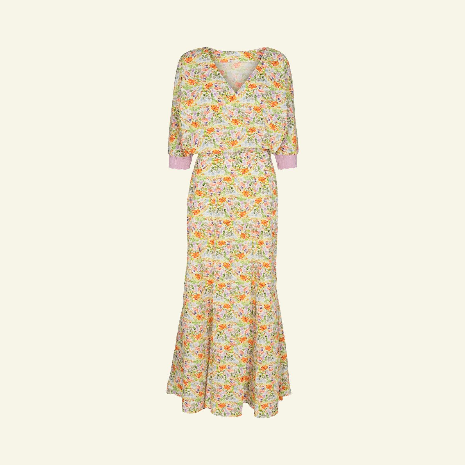 Wide dress with V-neck, 44/16 p23153_540109_96138_sskit