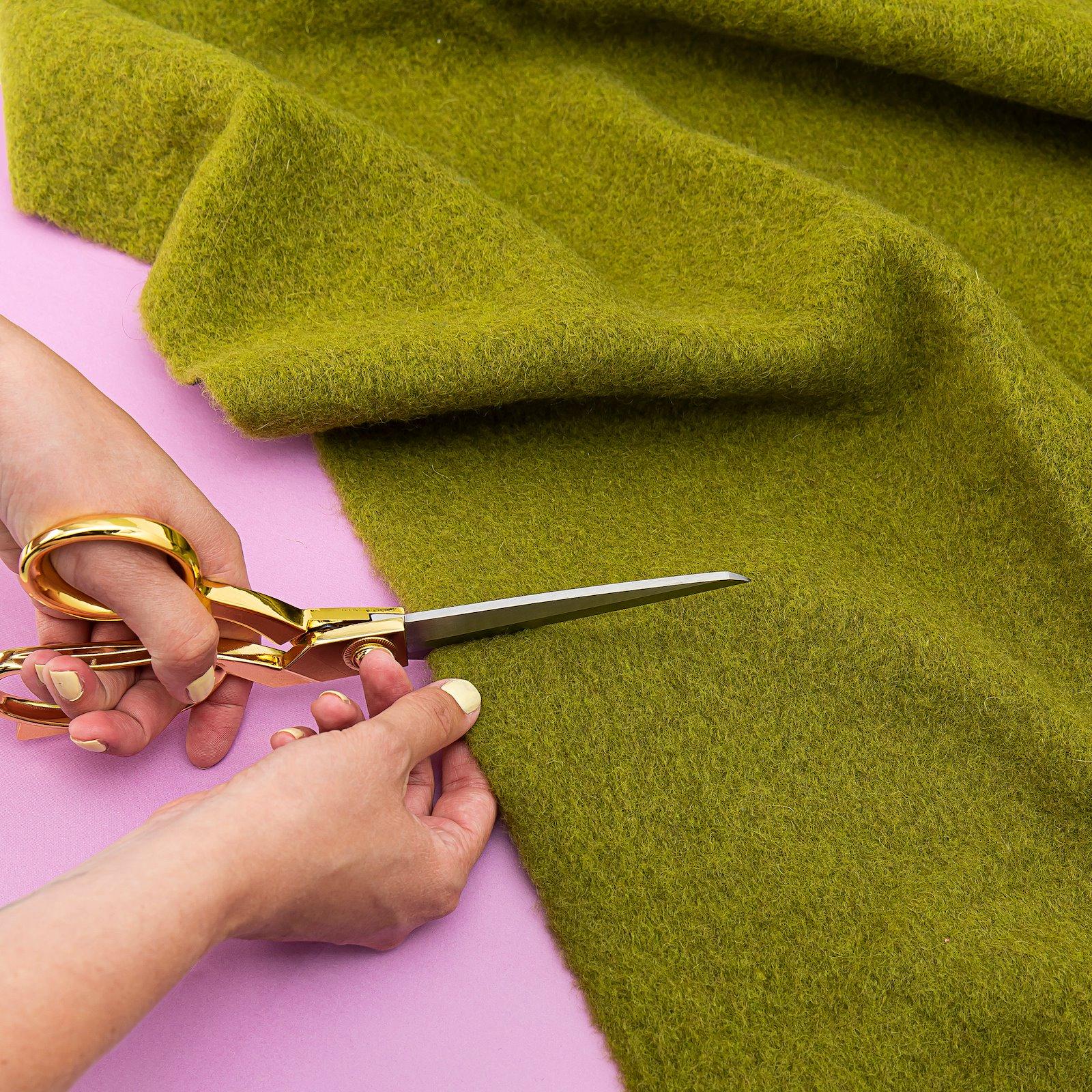 Wool felt dark lime melange 42056_310255_bundle