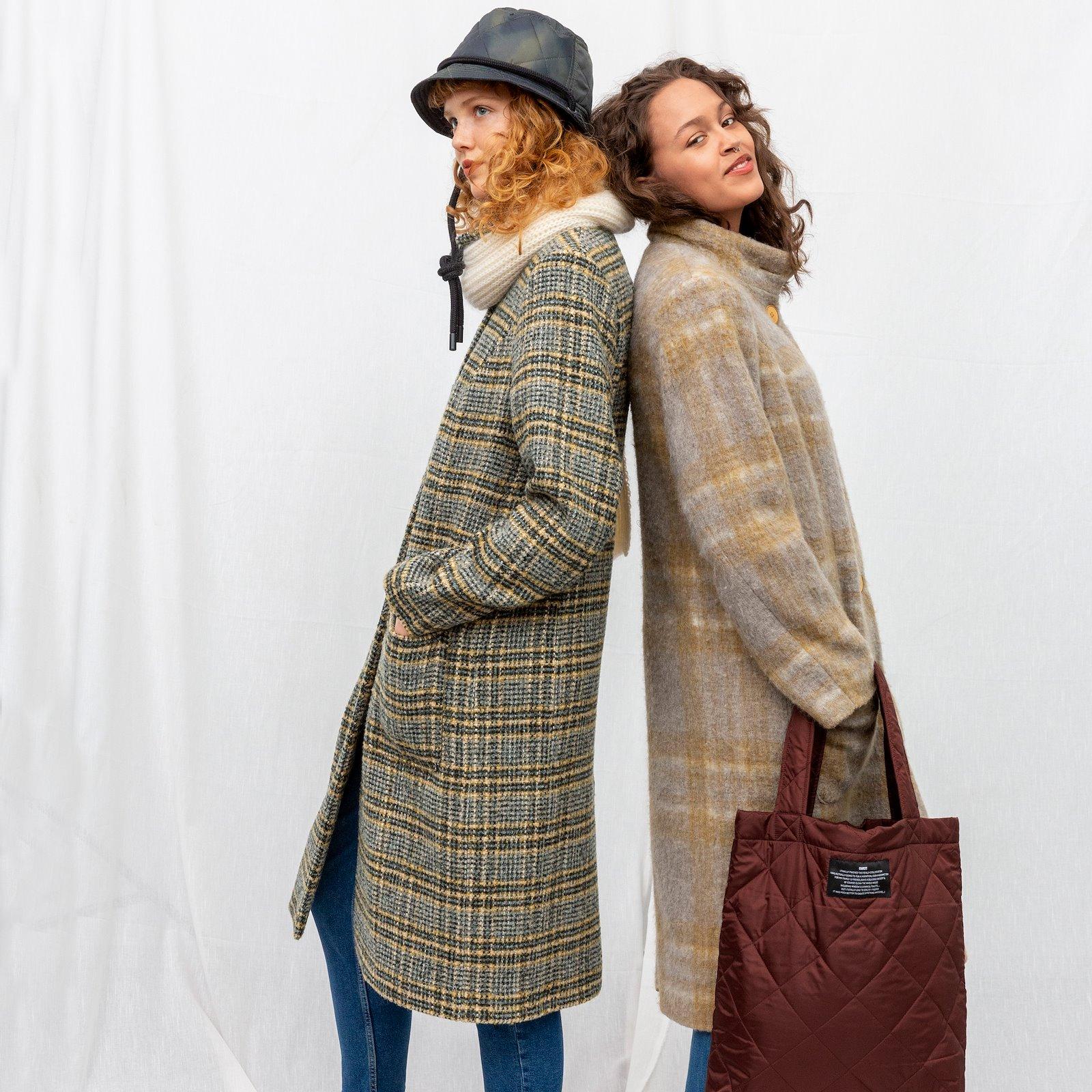 Wool felt grey/beige melange check 310363_DIY7009_920234_26533_bundle