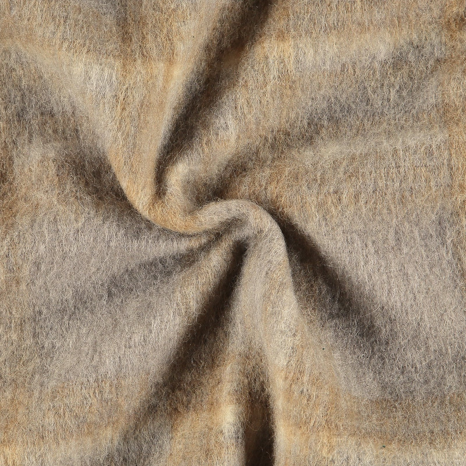 Wool felt grey/beige melange check 310363_pack