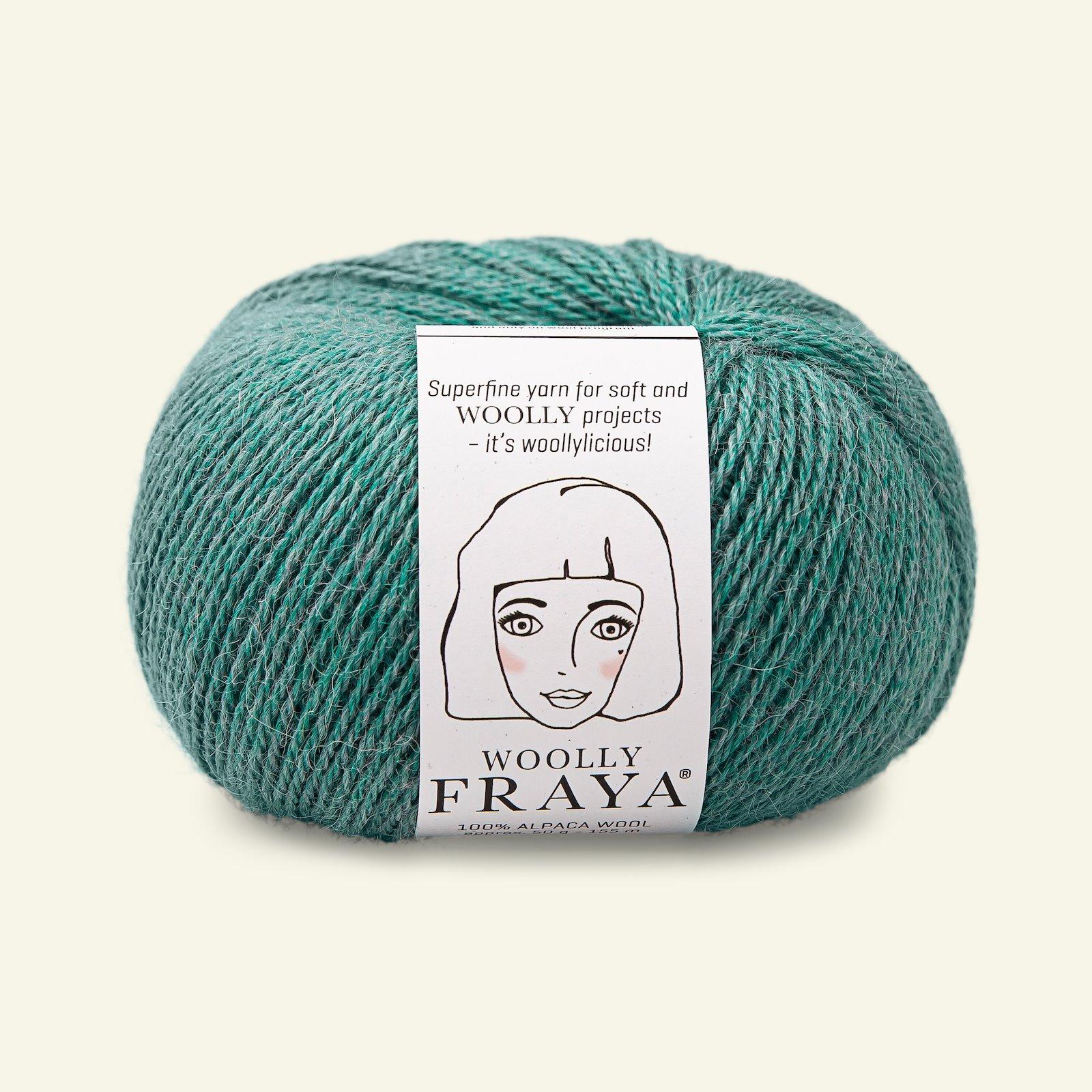 Woolly 50g aqua melange 90000062_pack