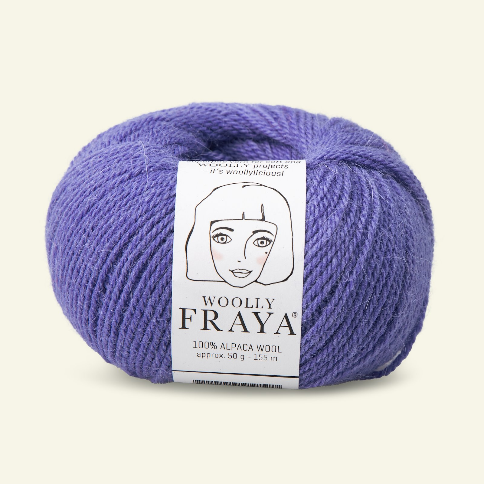 Woolly 50g bright blue 90000063_pack