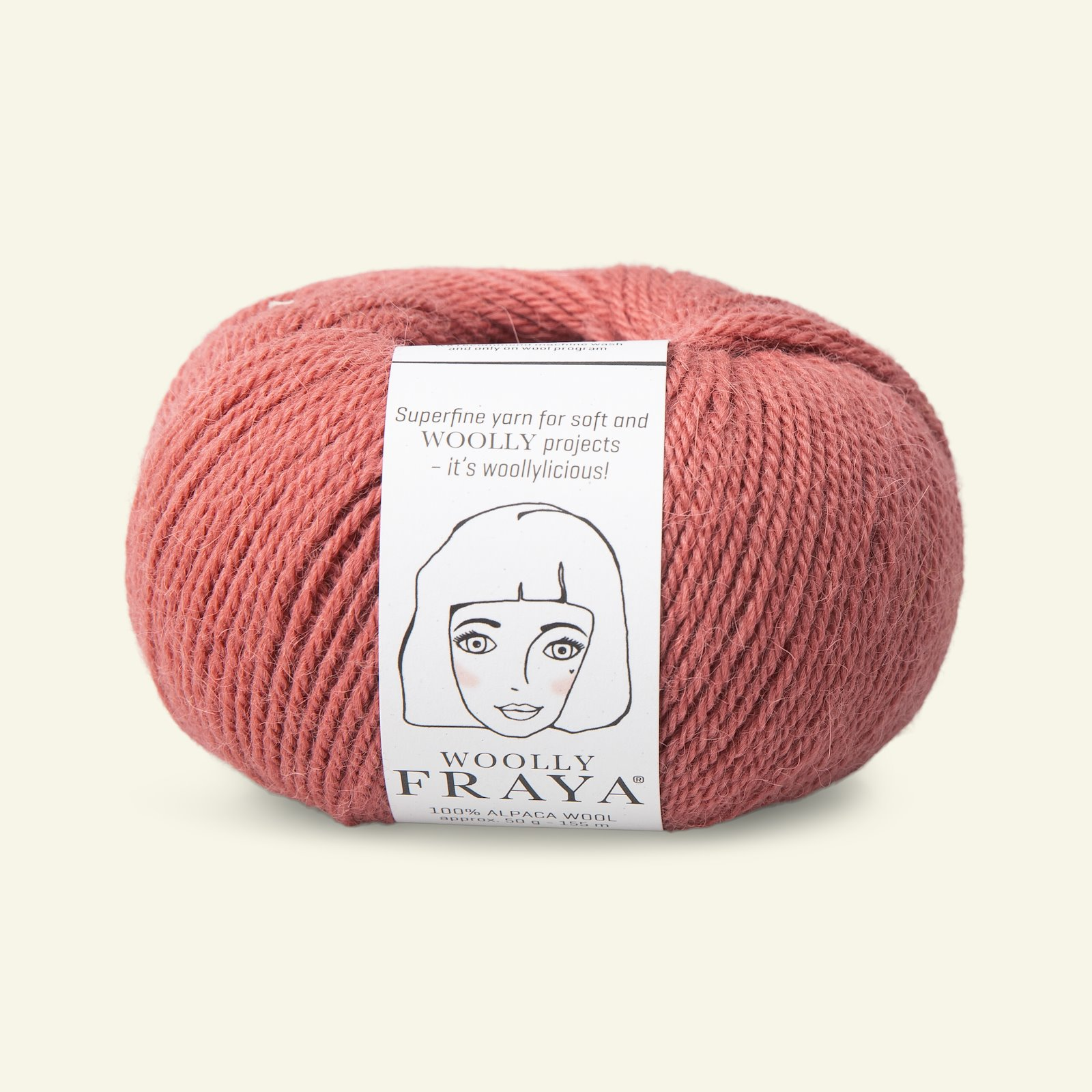 Woolly 50g dusty rose 90000067_pack