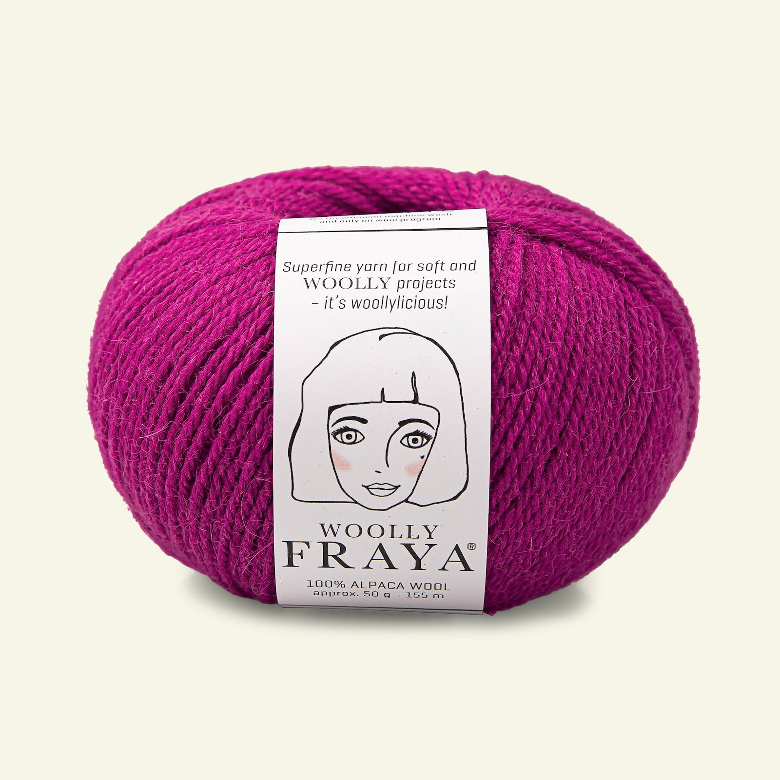 Woolly 50g fuchsia 90000068_pack
