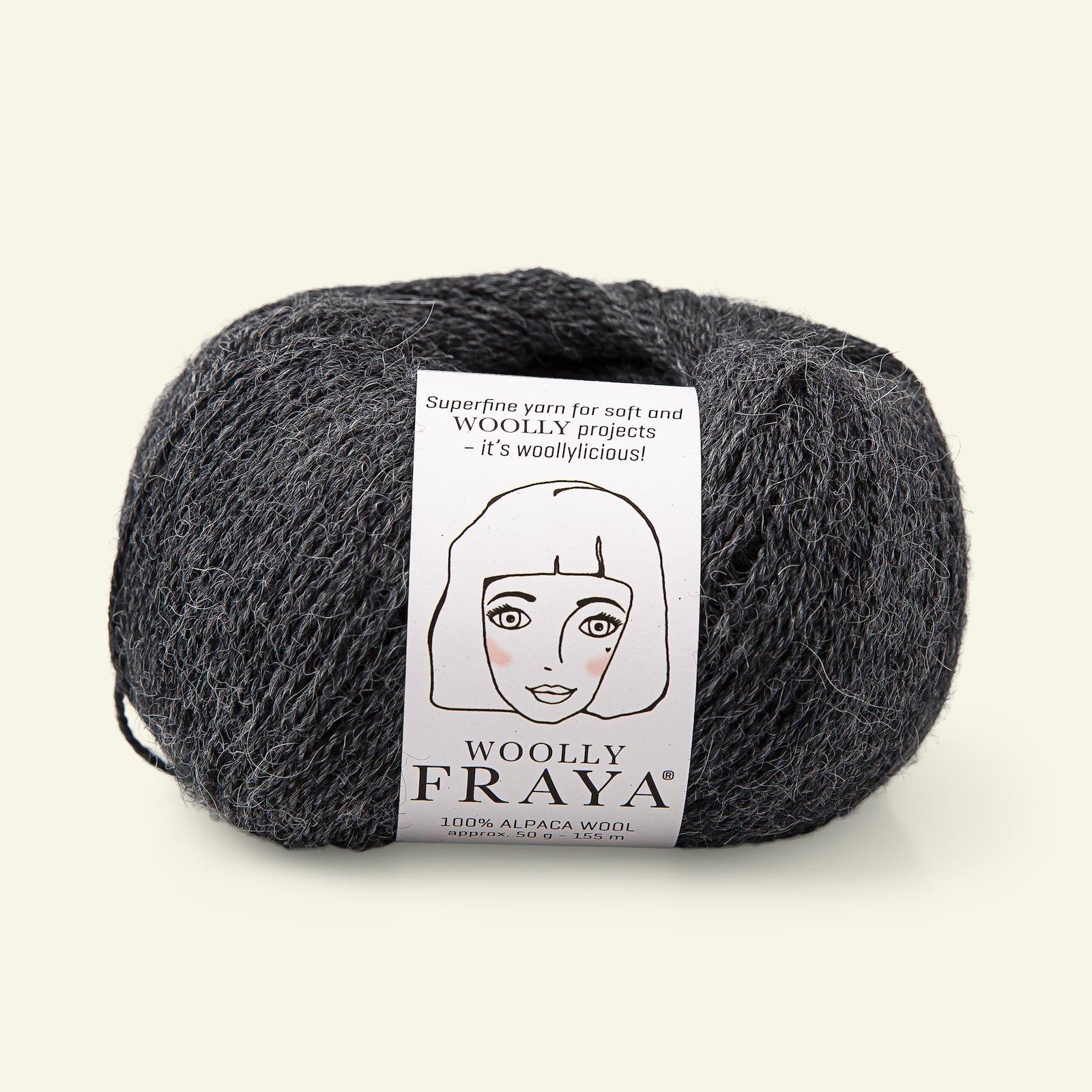 Woolly 50g grey melange 90000069_pack