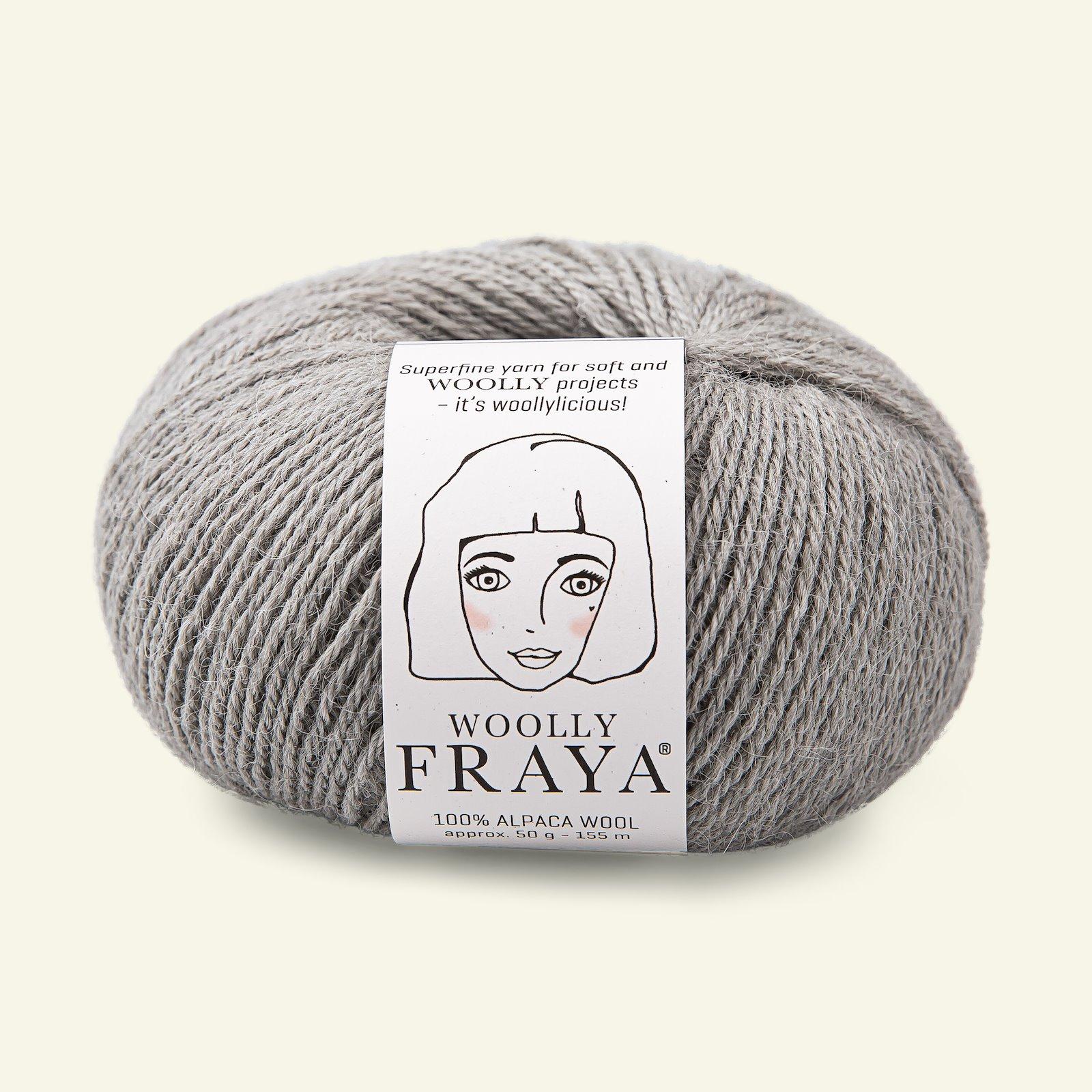 Woolly 50g light grey 90000071_pack