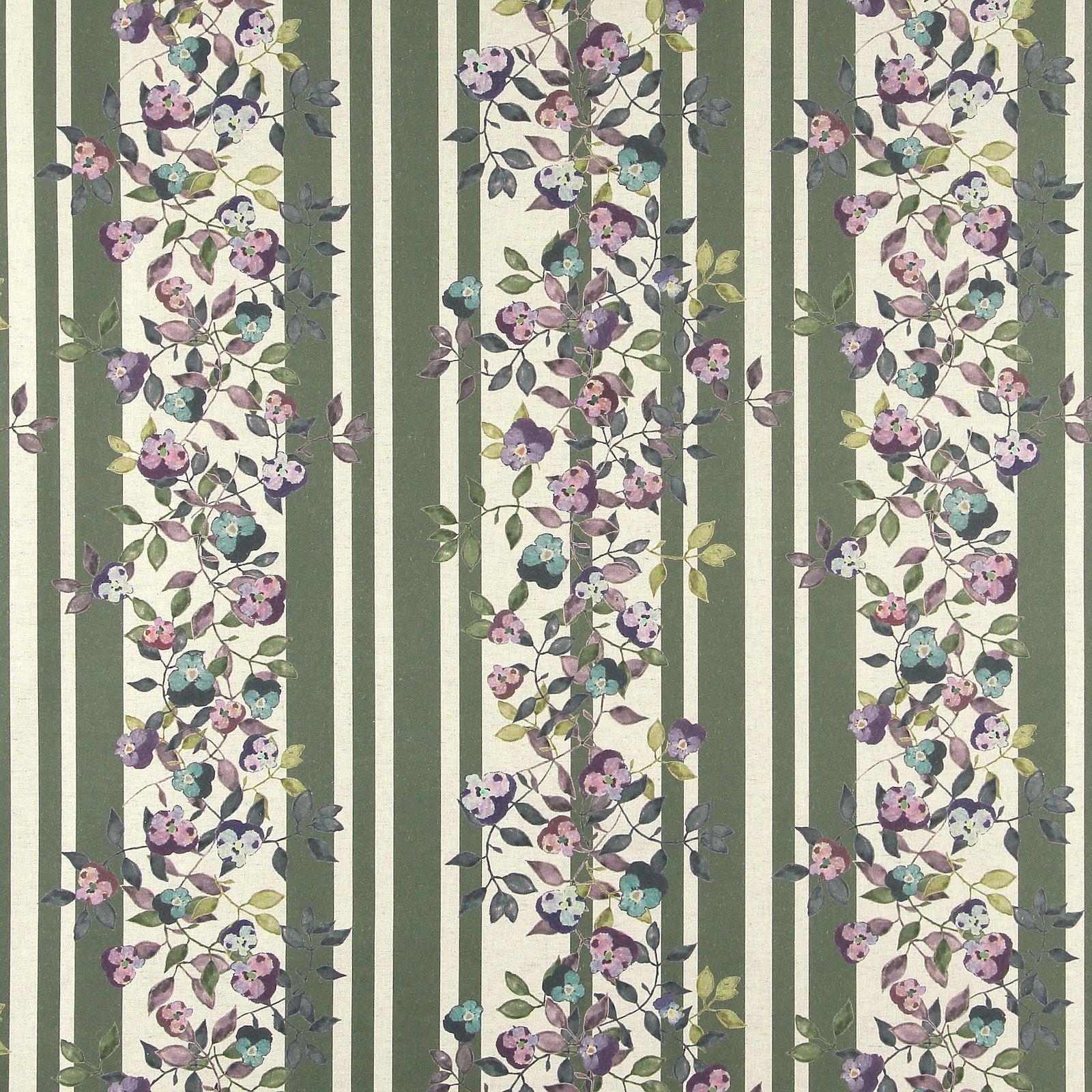 Woven cotton/linen green/rose w flowers 780576_pack_sp