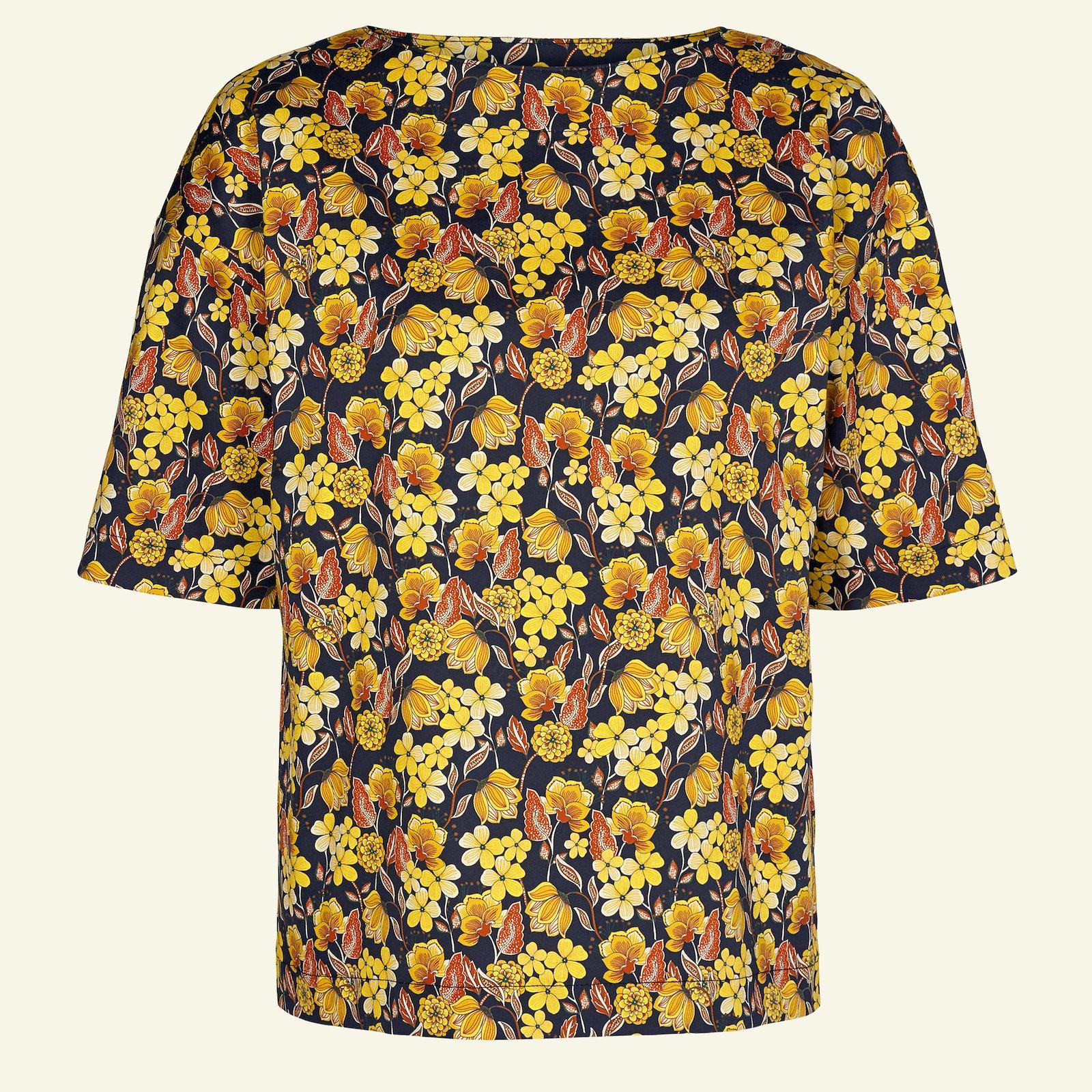 Woven cotton satin black w.yellow flower p23161_460853_sskit