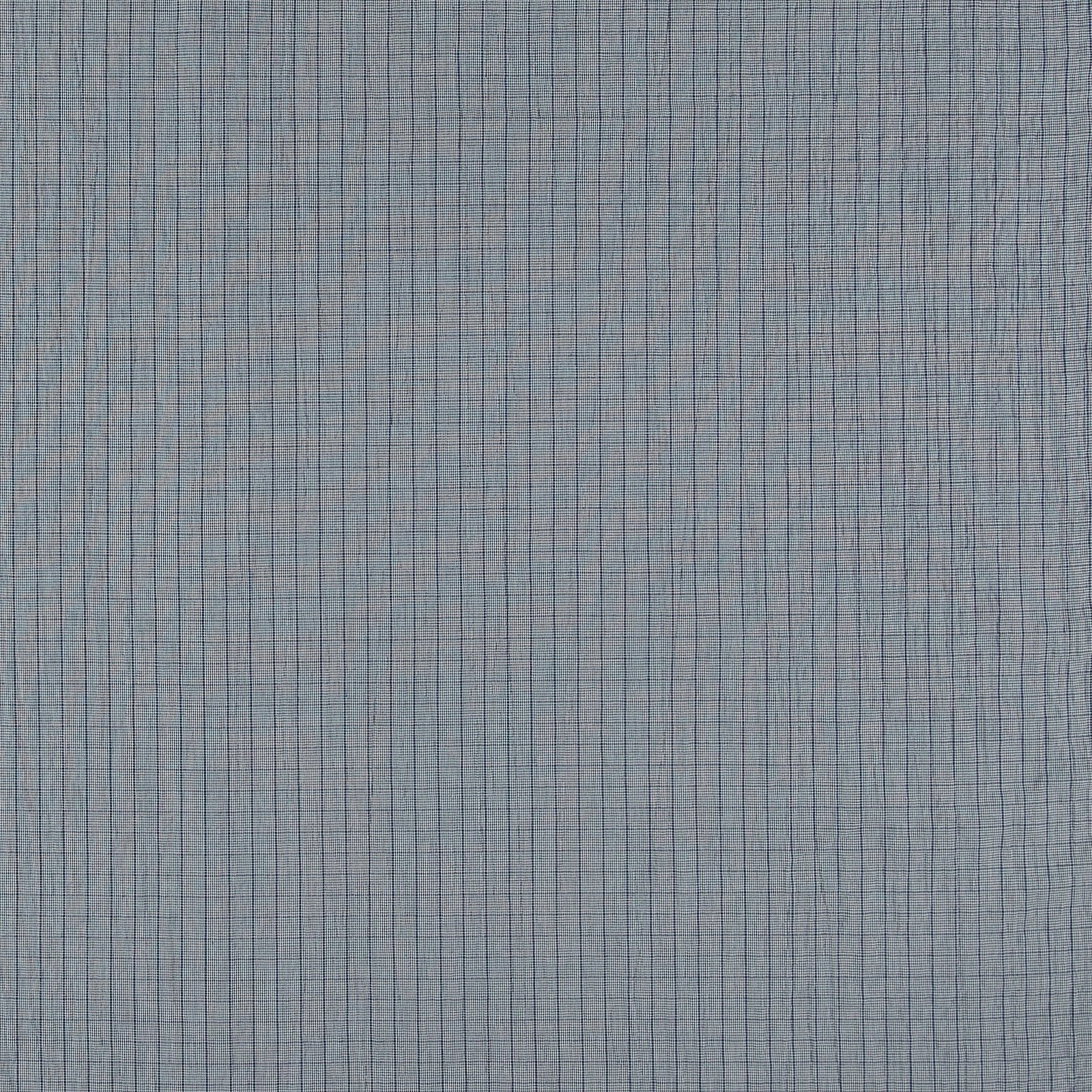 Woven cotton w structure blue check 501881_pack_sp