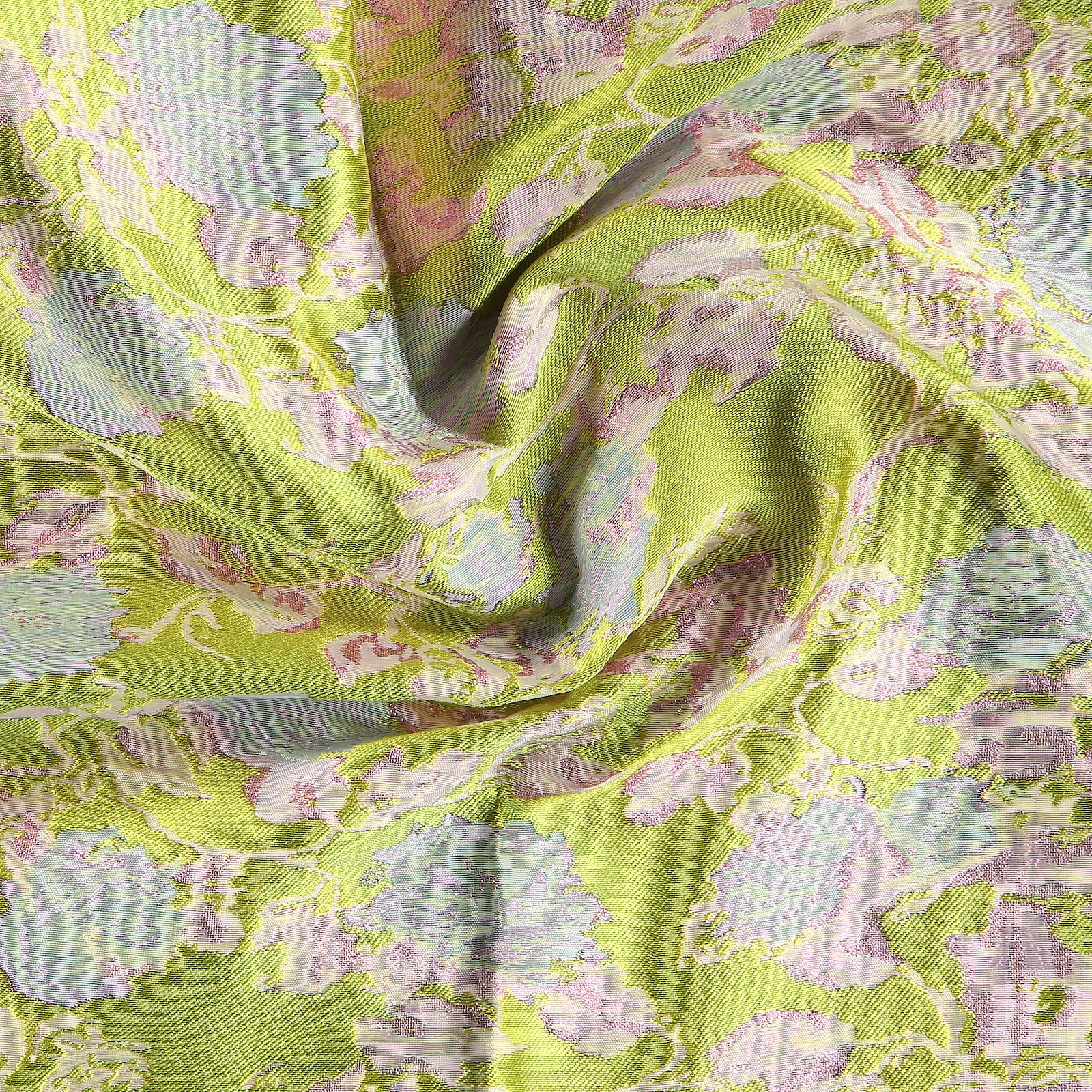 Woven jacquard pink/green with flowers 400325_pack_b