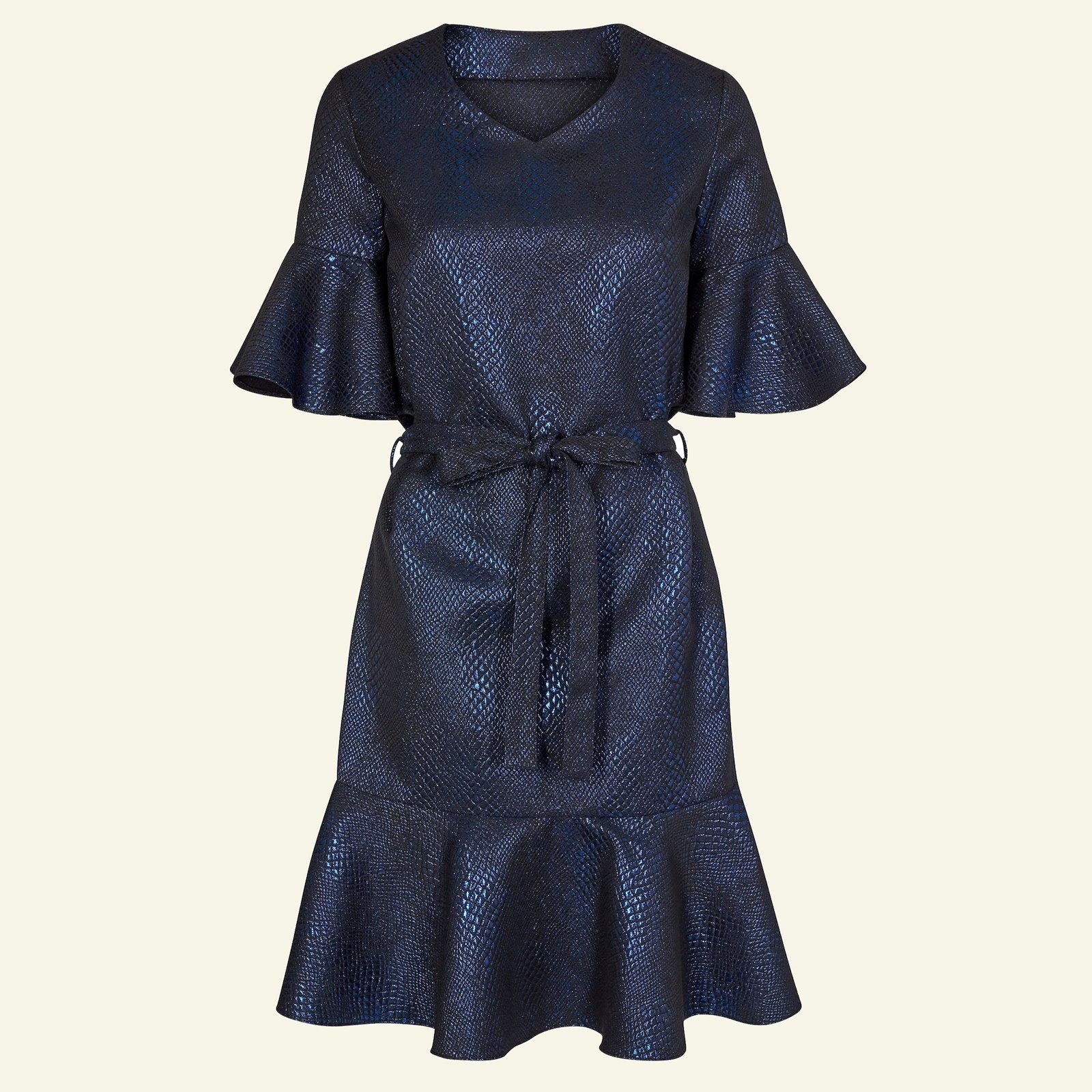Woven jacquard with blue lurex p23150_400307_sskit
