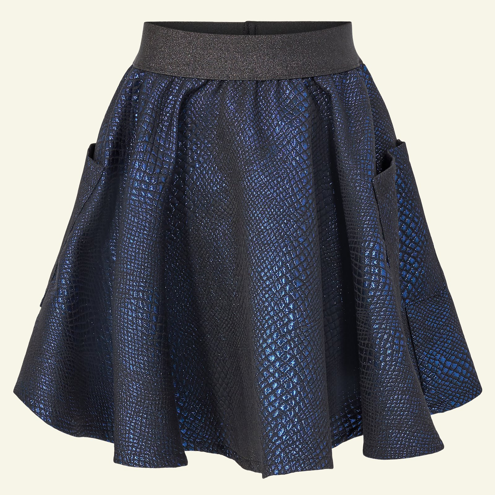 Woven jacquard with blue lurex p61018_400307_sskit