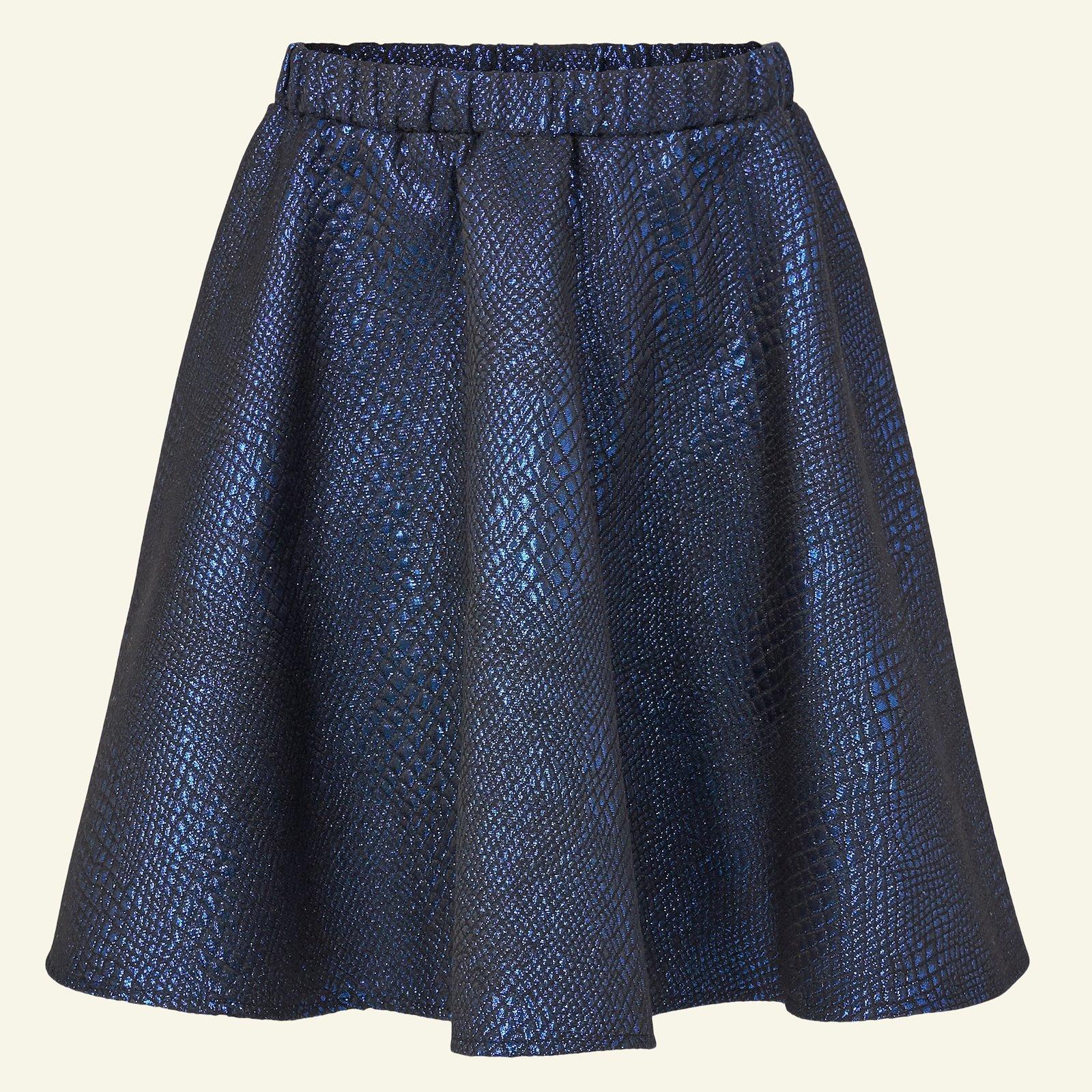 Woven jacquard with blue lurex p61019_400307_sskit
