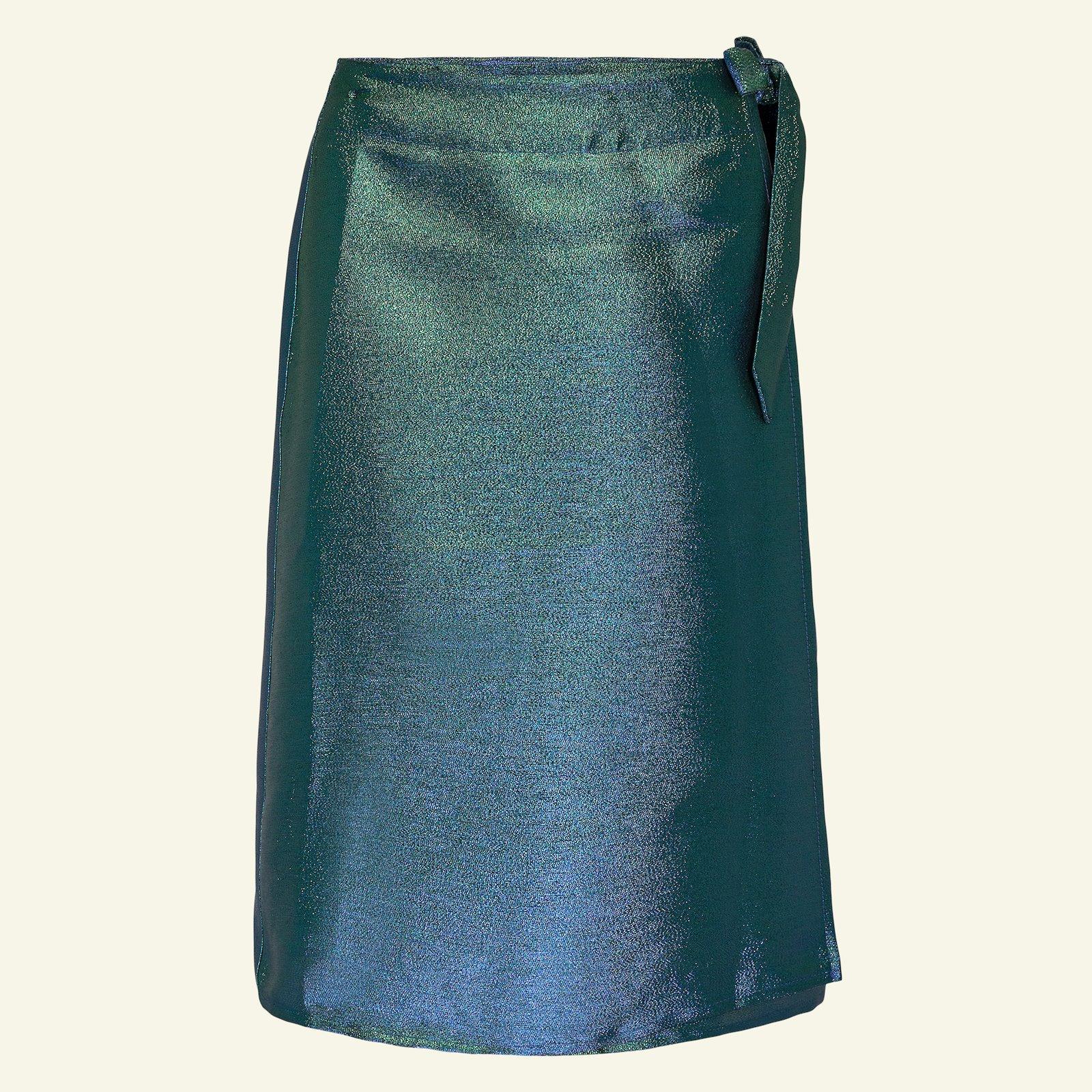 Woven jacquard with green/blue lurex p21045_400322_sskit